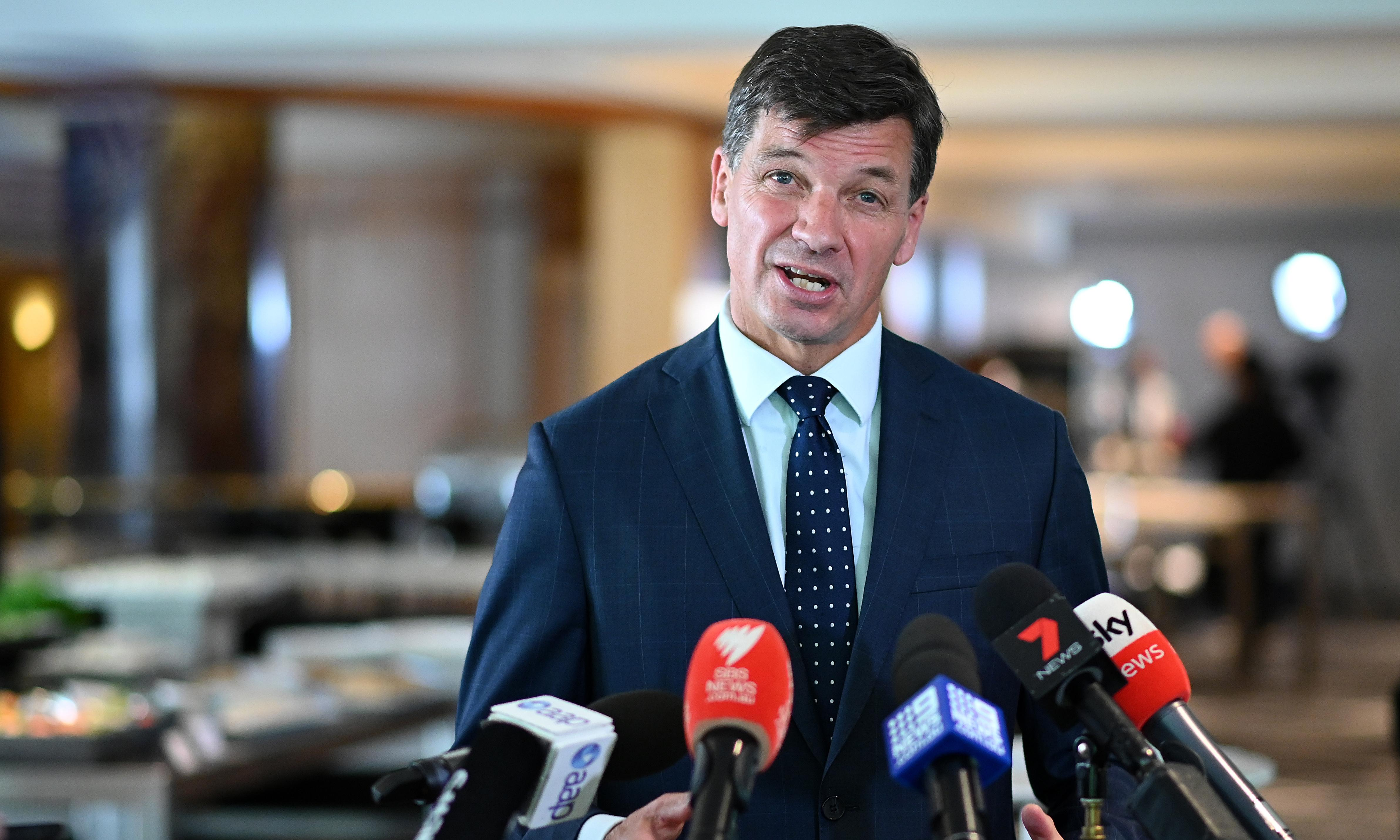 Victoria asks Angus Taylor to fast-track work on Snowy-Melbourne energy line