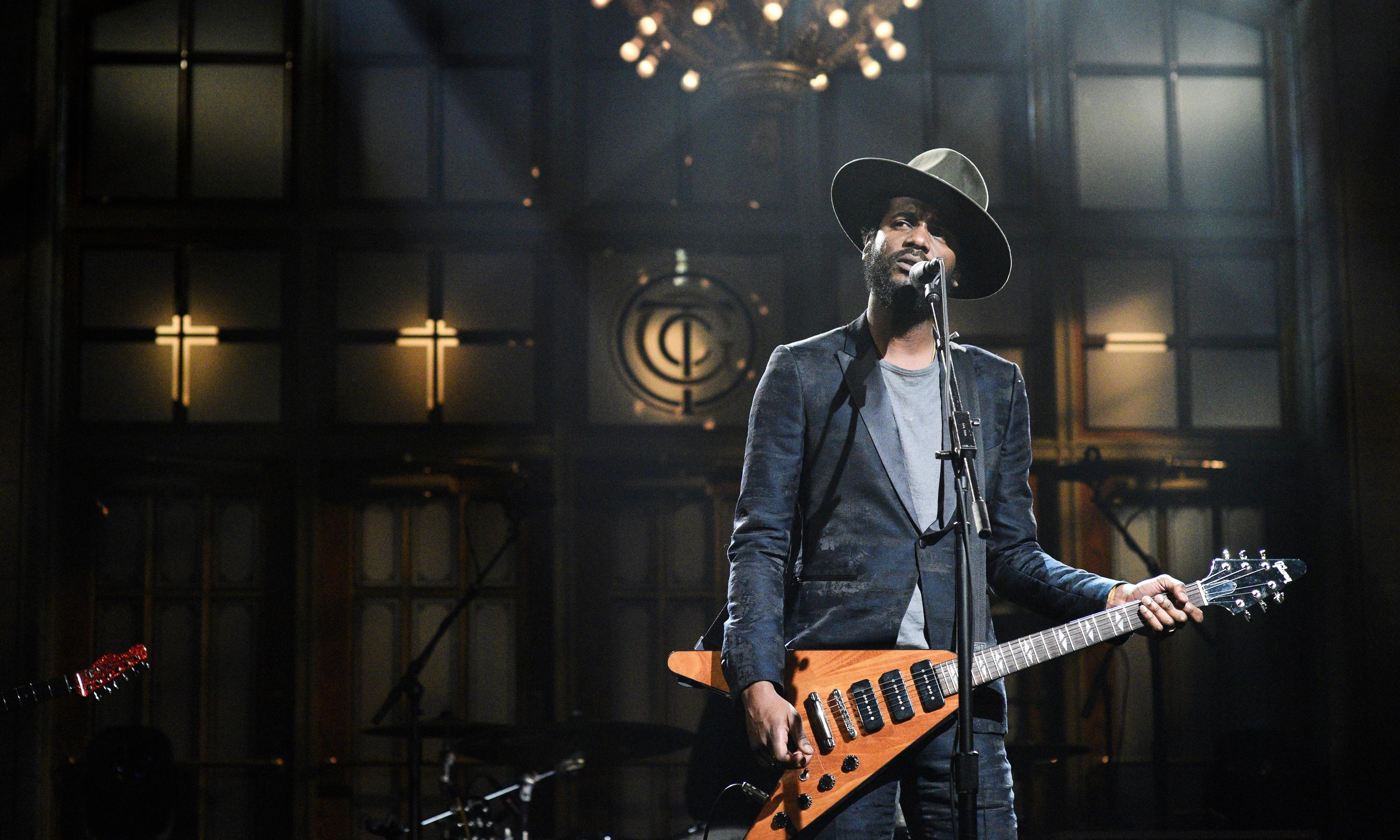 Gary Clark Jr: 'I want to let it be known: this land is your land, but it's mine too'