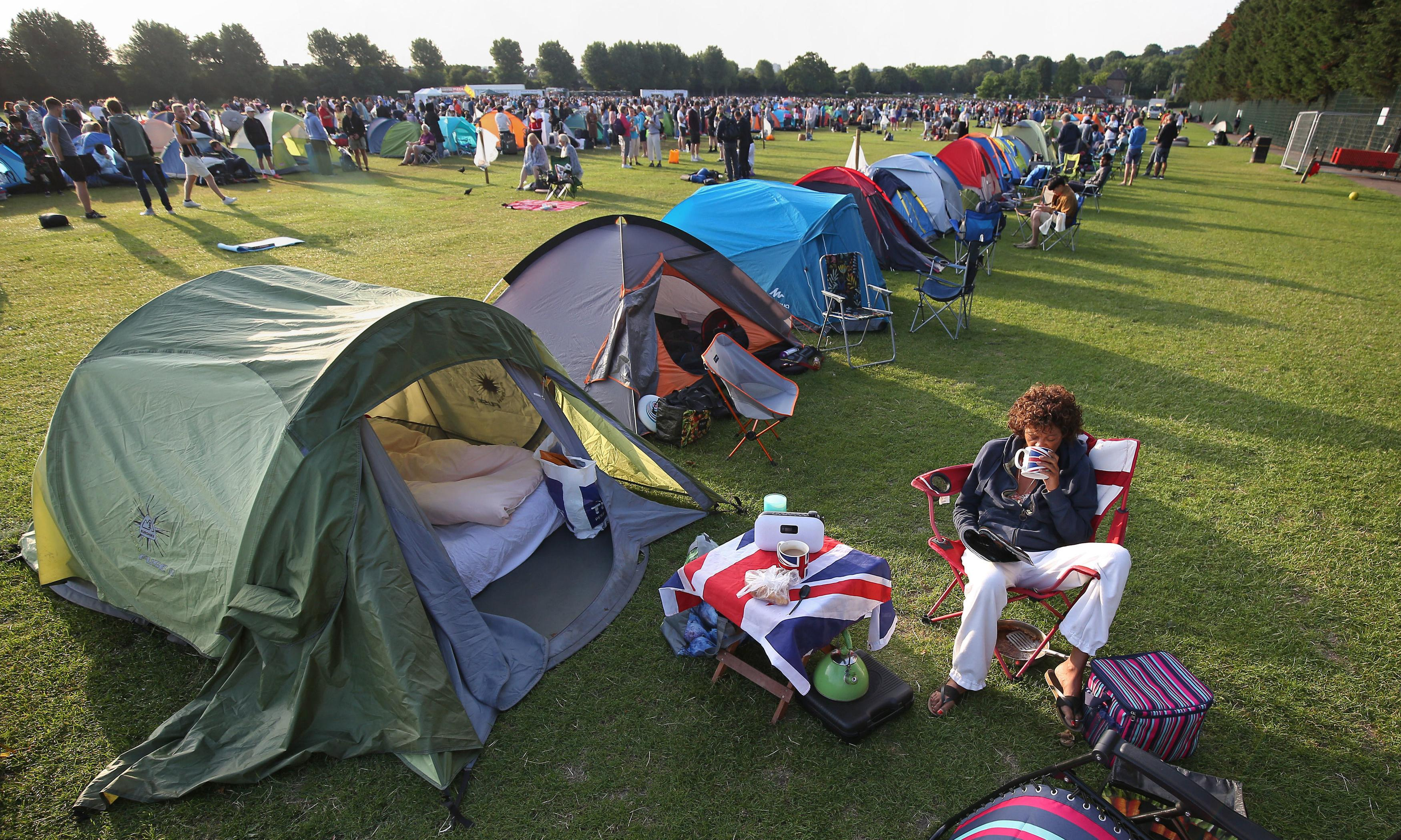 Is Wimbledon's queue really a 'great tradition'?