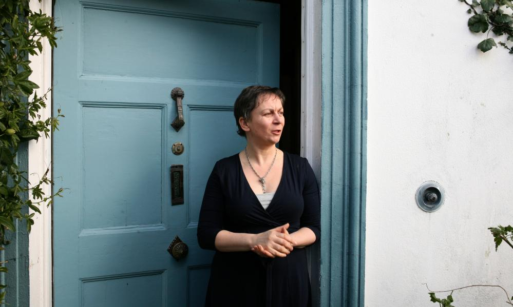 Anne Enright at home in Bray, near Dublin.