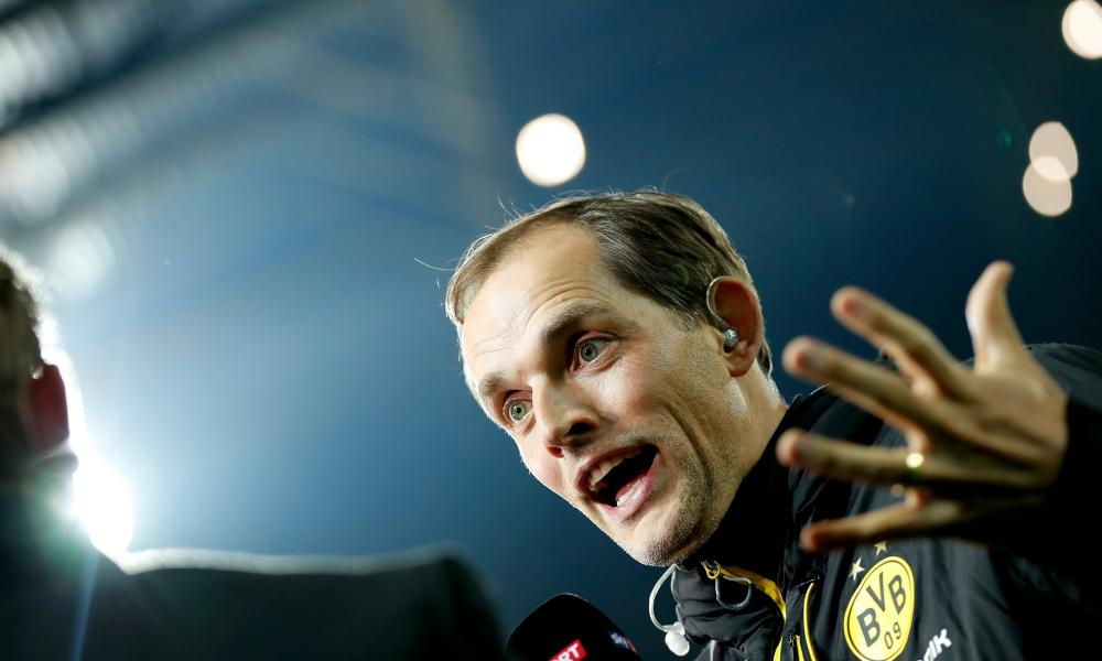 Thomas Tuchel gets animated