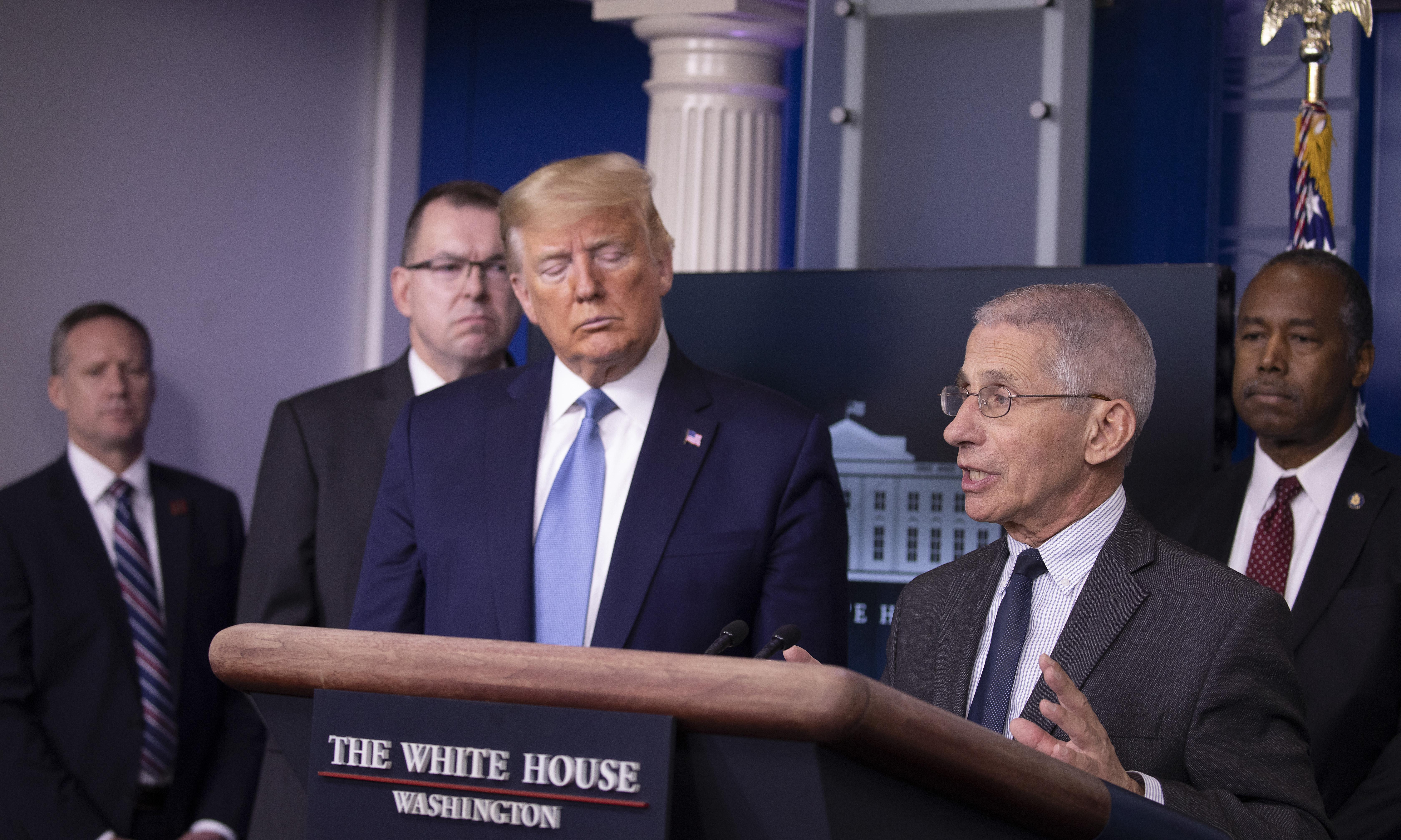 'Where's Fauci?' America panics as doctor absent again from White House briefing