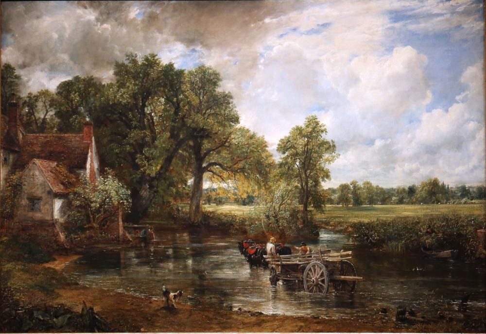 The Hay Wain by John Constable.