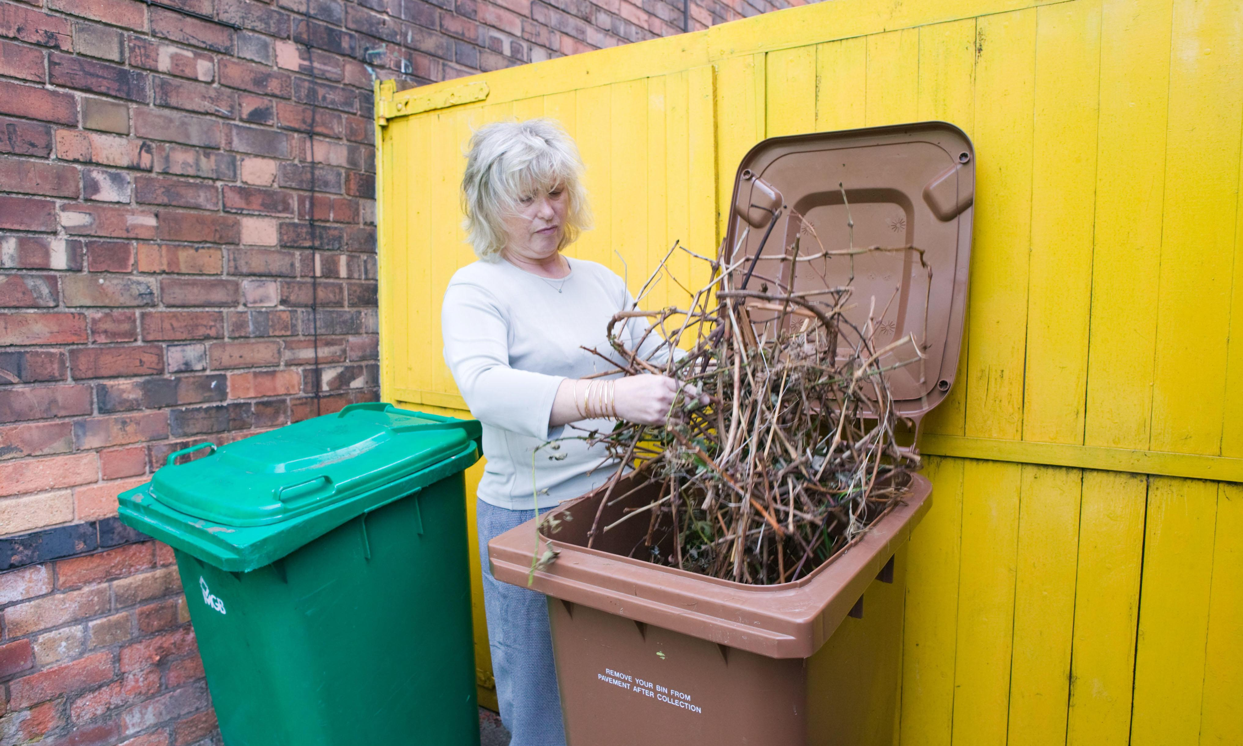 Rubbish charges: from £96 for garden waste to £1.50 for a toilet