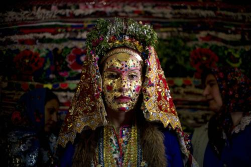 A Pomak bride