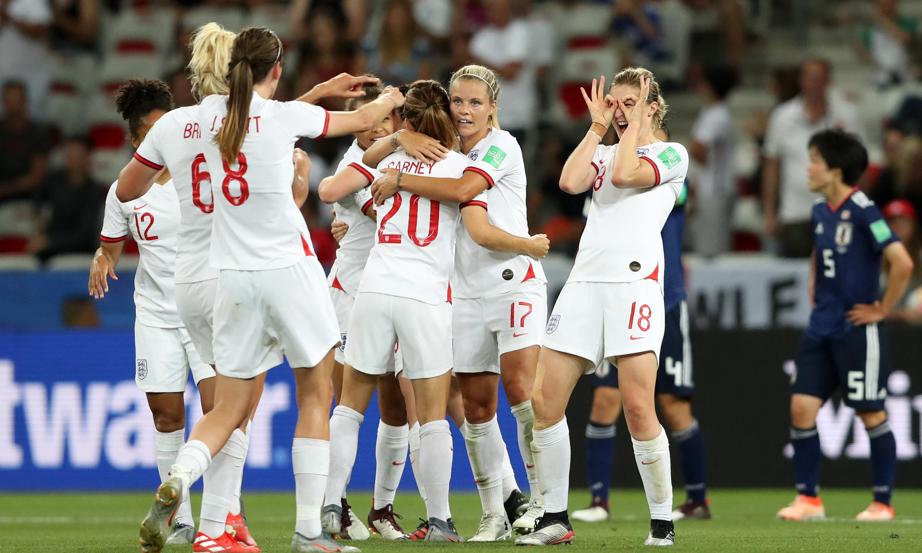 Ellen White's double sinks Japan and seals top spot in group for England