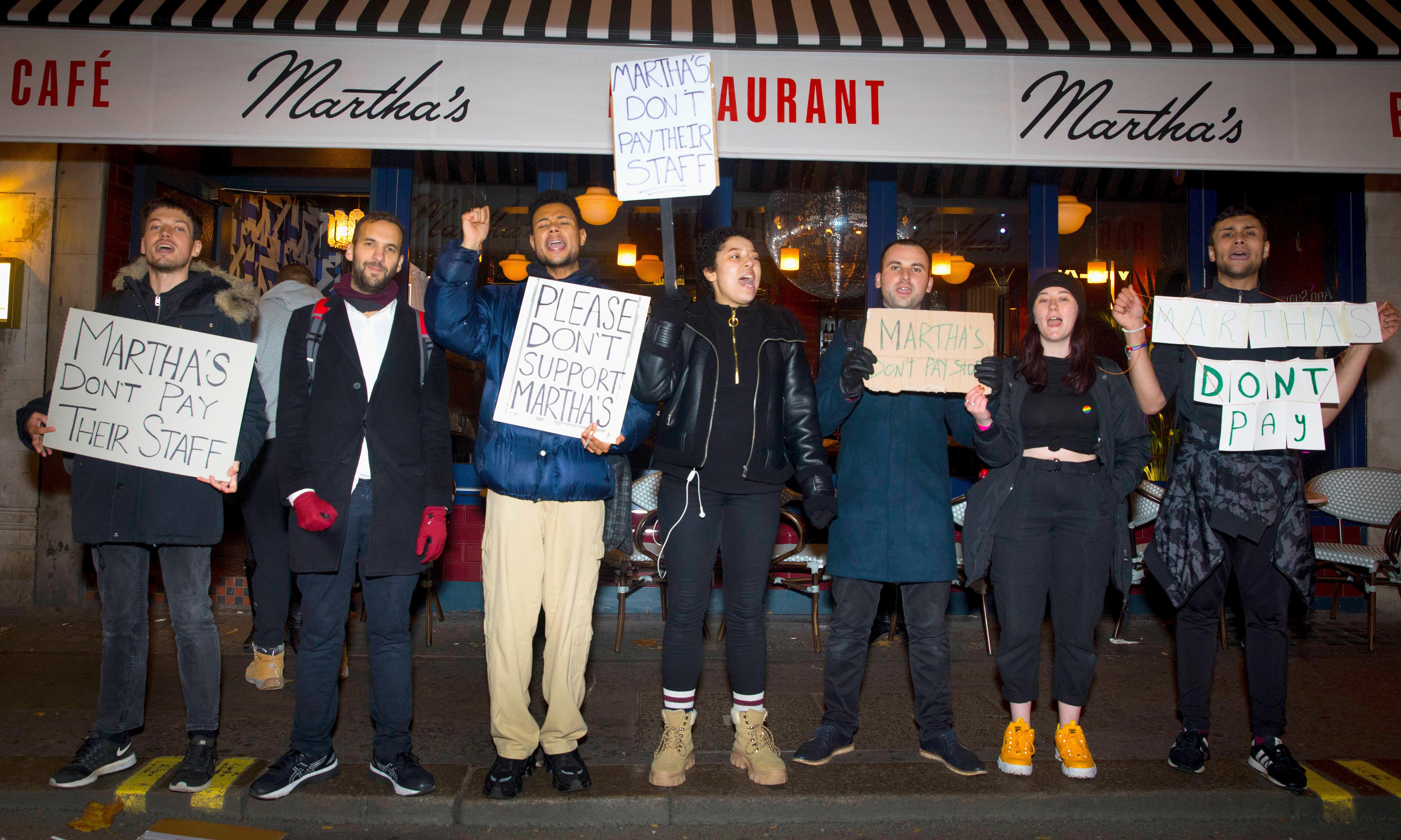Former staff at Soho restaurant say they are owed wages