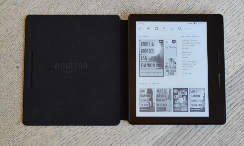 amazon kindle oasis review