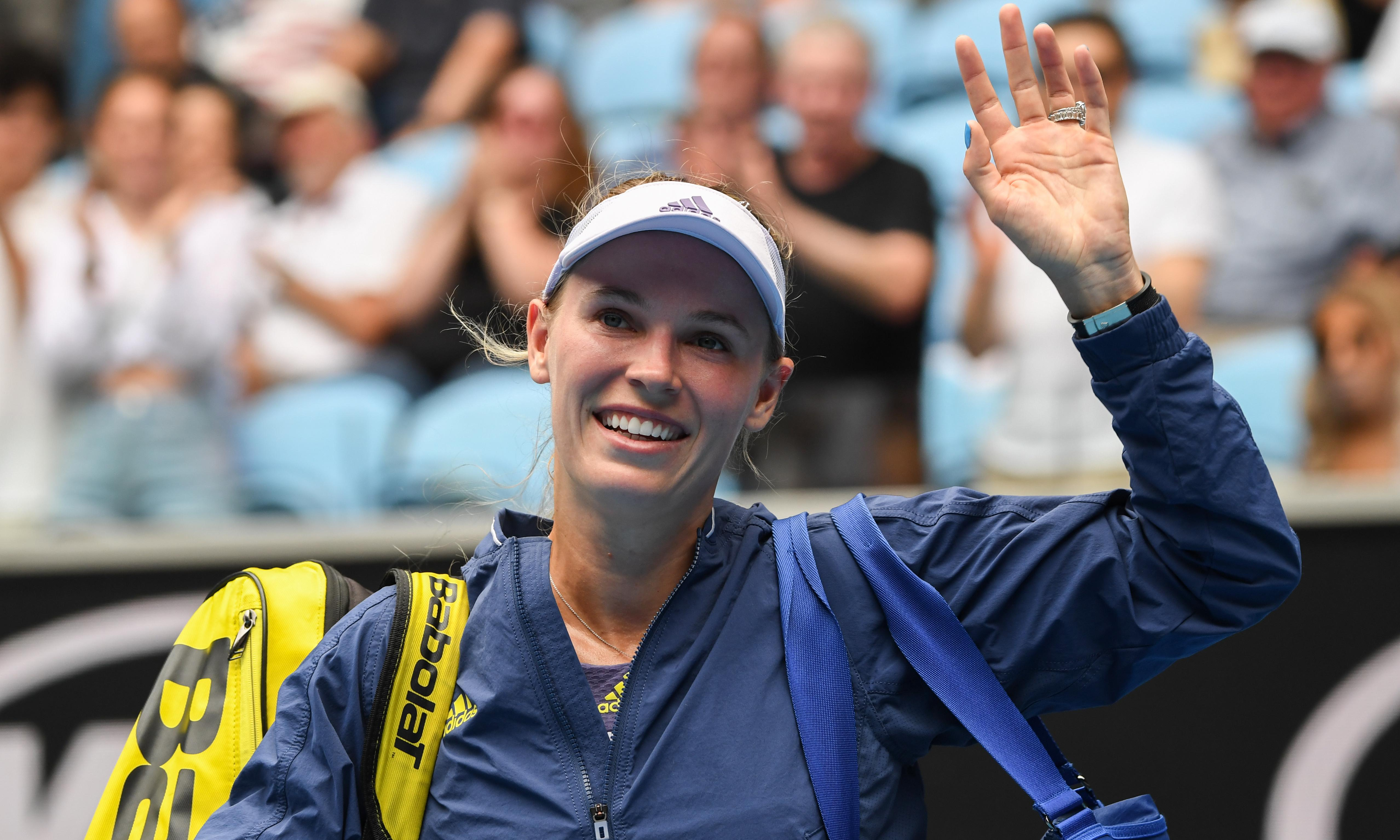 Caroline Wozniacki: 'Tennis is what I've done my whole life … it's crazy it's coming to an end'