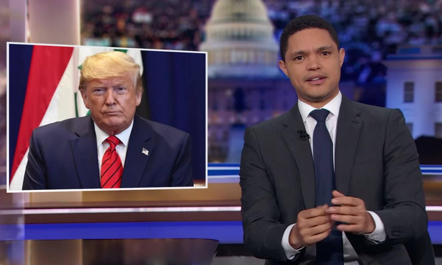 Trevor Noah: 'Trump can't decline to participate – this isn't the Vietnam war'