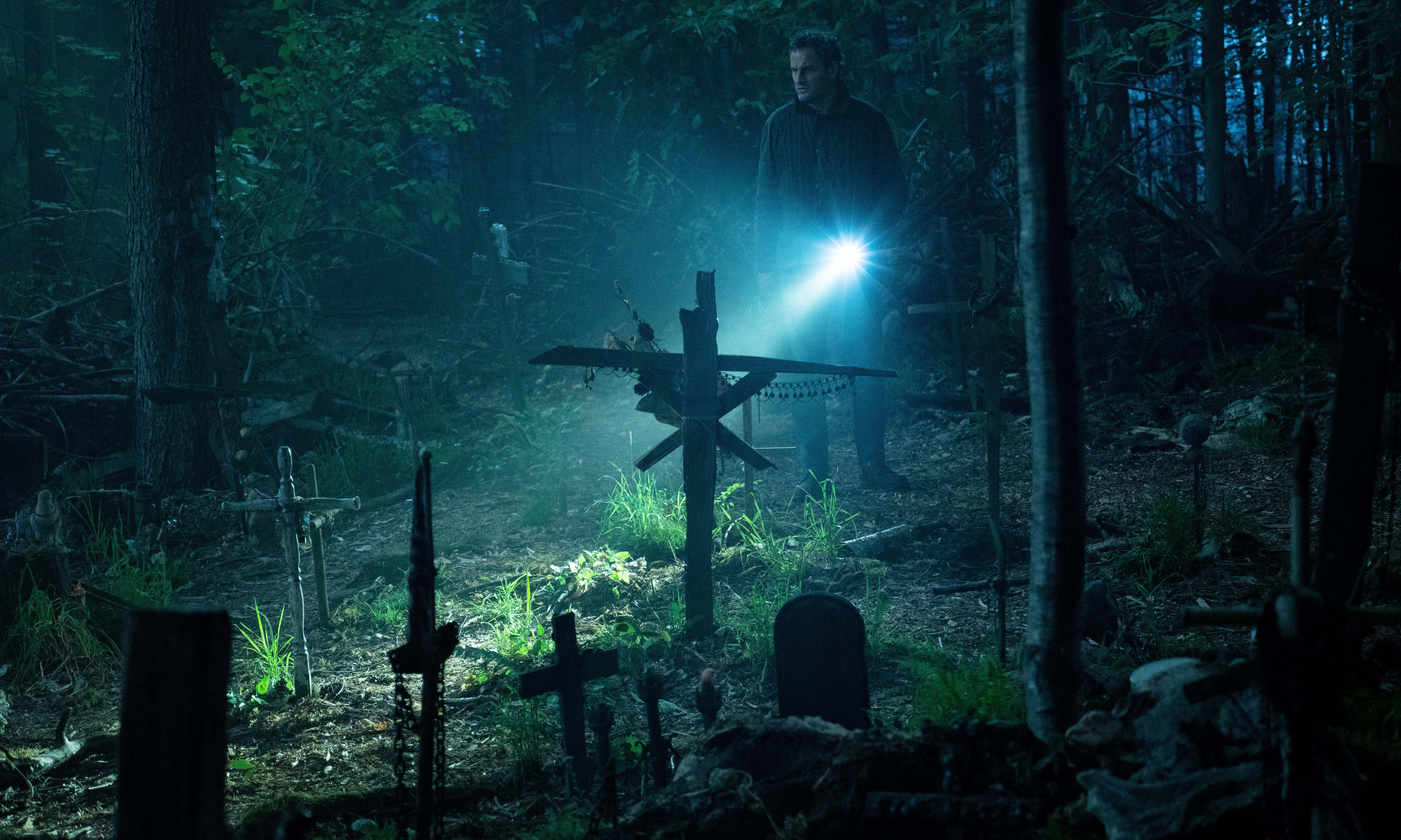 Pet Sematary review – lairy, hairy new version of Stephen King's undead animal shocker