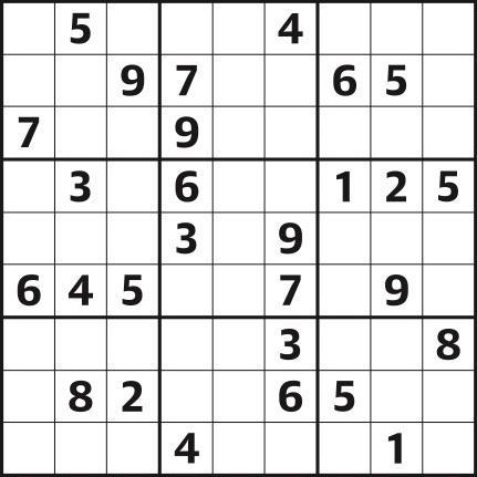 Sudoku 4,323 medium
