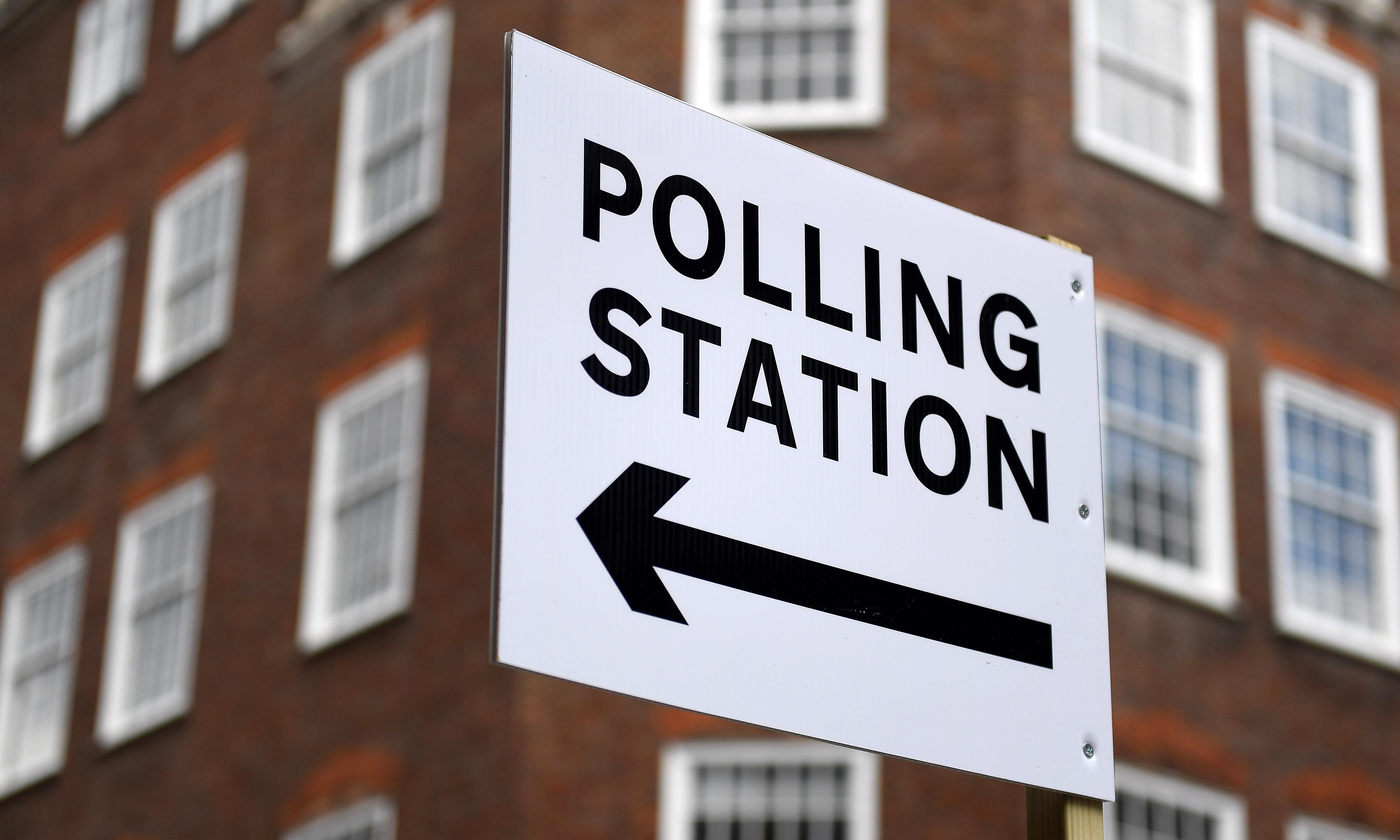 What's happening where you are on polling day?