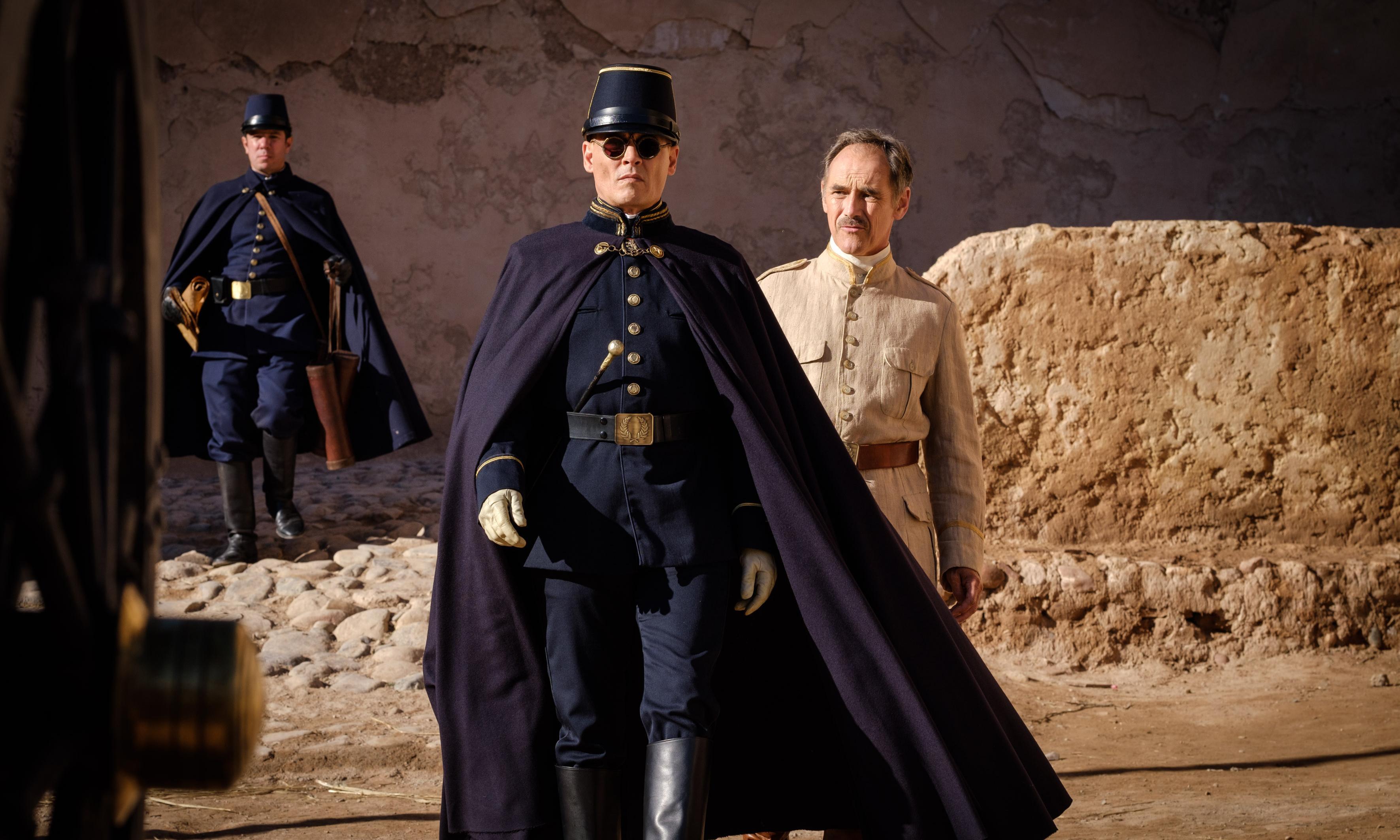 Rylance, Depp and Pattinson bring Coetzee to big screen