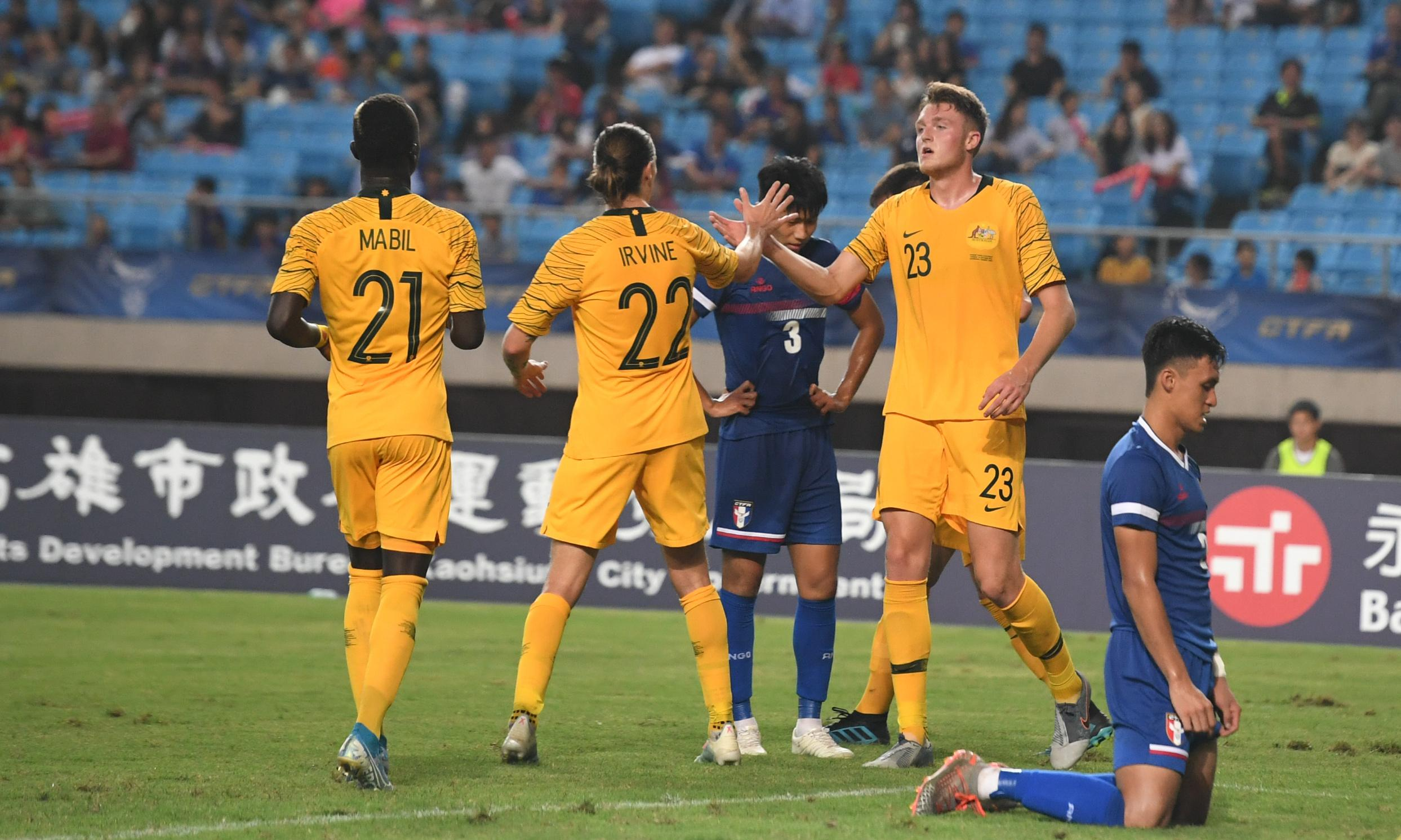 Socceroos emerge richer from World Cup qualifiers despite all-too-easy wins over poor opponents