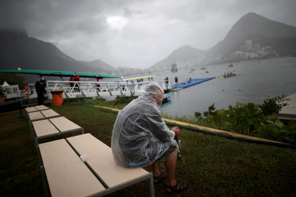 Grey skies, choppy waters and cross winds are not usual August fare in Rio. Mopping up inside the stadia became a regular occurrence during the opening days and the regatta faced rough conditions. One Serbian rowing boat capsized and others came perilously close as they claimed Rio's weather was the worst they had encountered. Heavy rain hit the tennis, kayaking and beach volleyball as well.