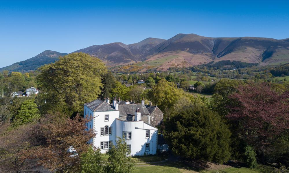 'A stately pleasure dome': Greta Hall, Cumbria, home to Samuel Taylor Coleridge.