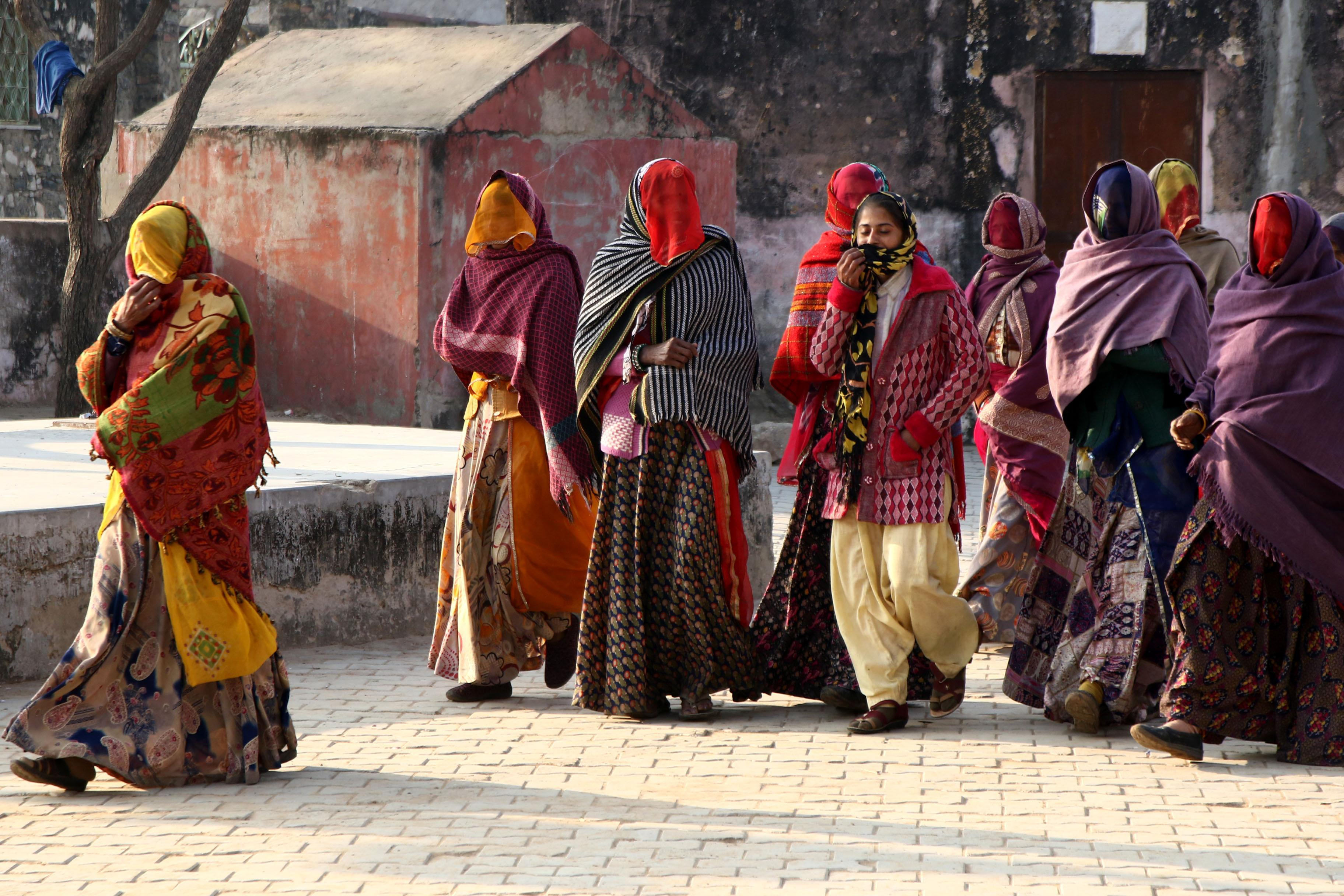 Rajasthan's women encouraged to remove veil in state campaign