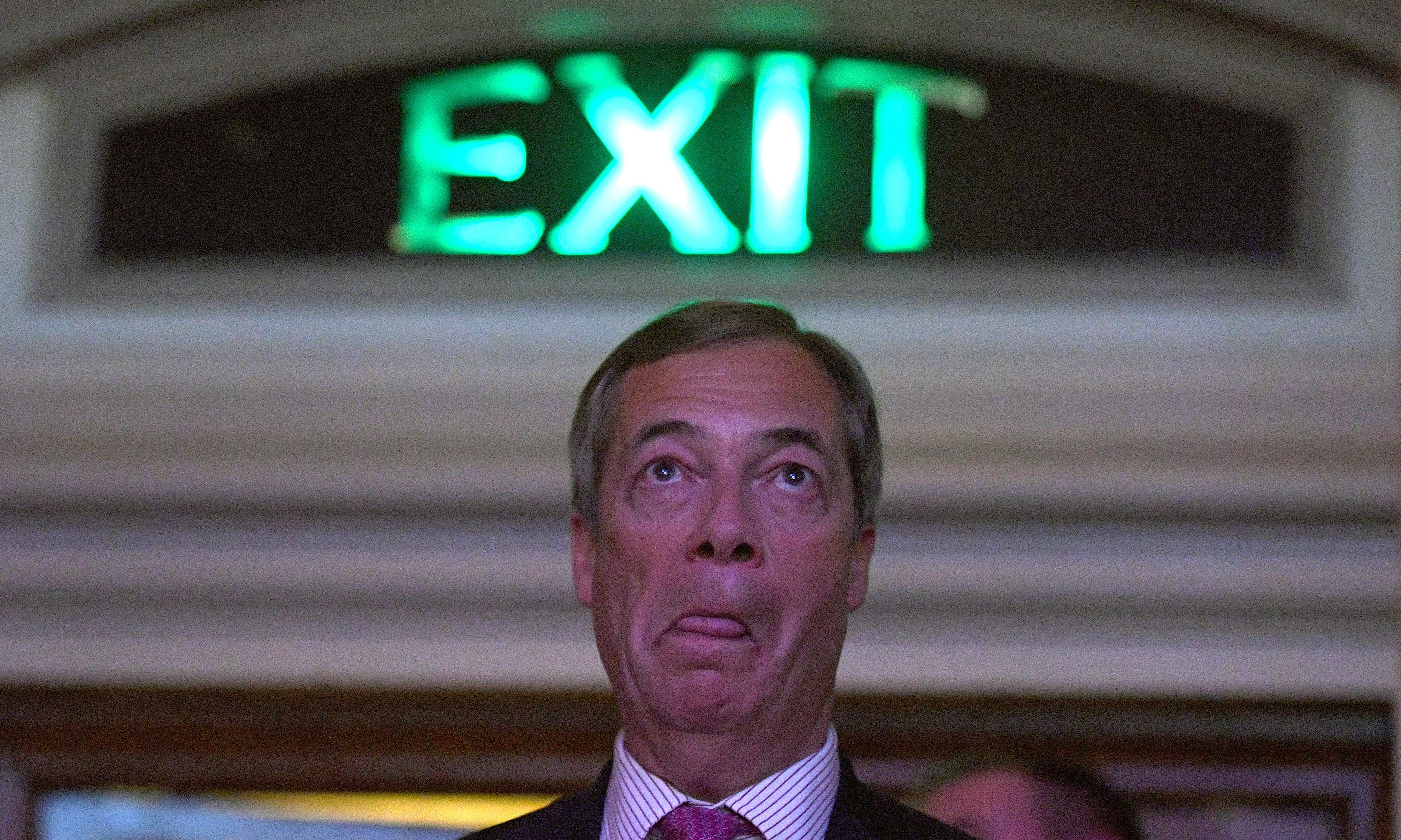 Farage ally said black men are violent due to high testosterone