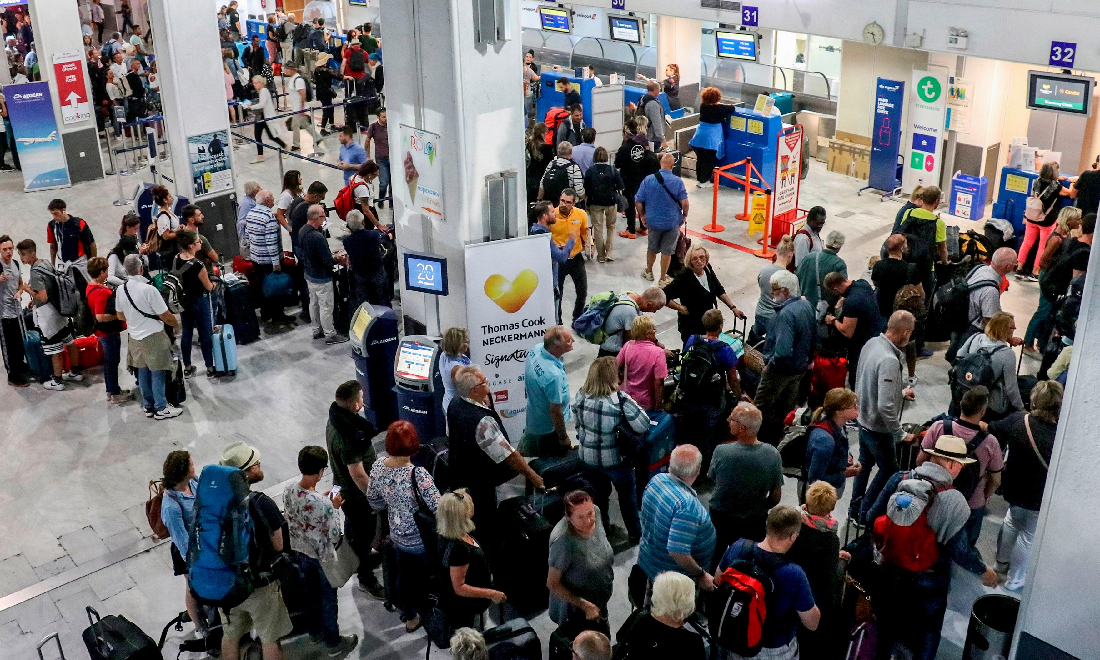 UK ministers accused of sealing Thomas Cook's fate