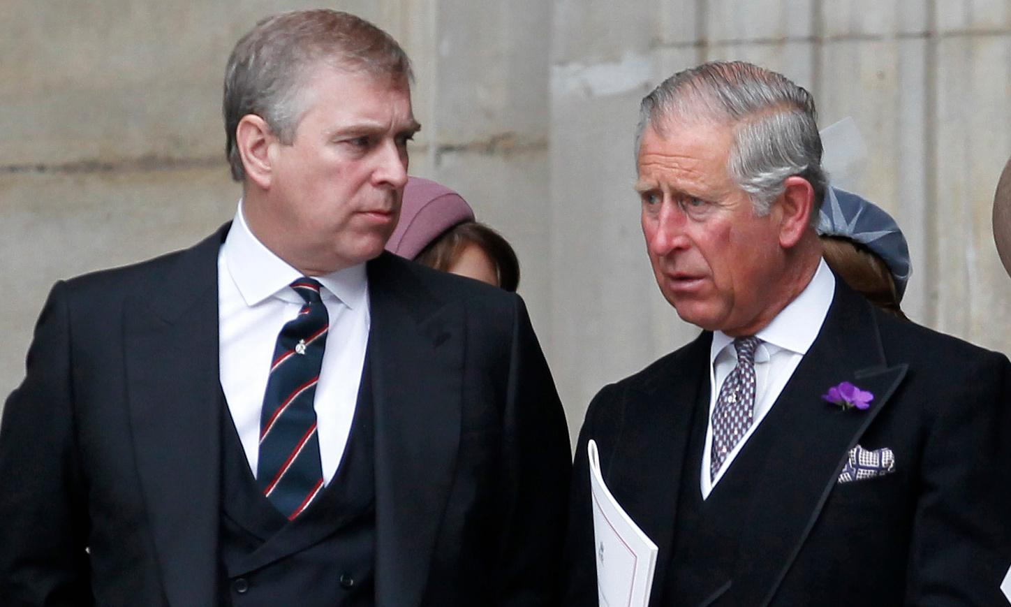 The toxic prince: Andrew handed royal P45 after tipping point reached