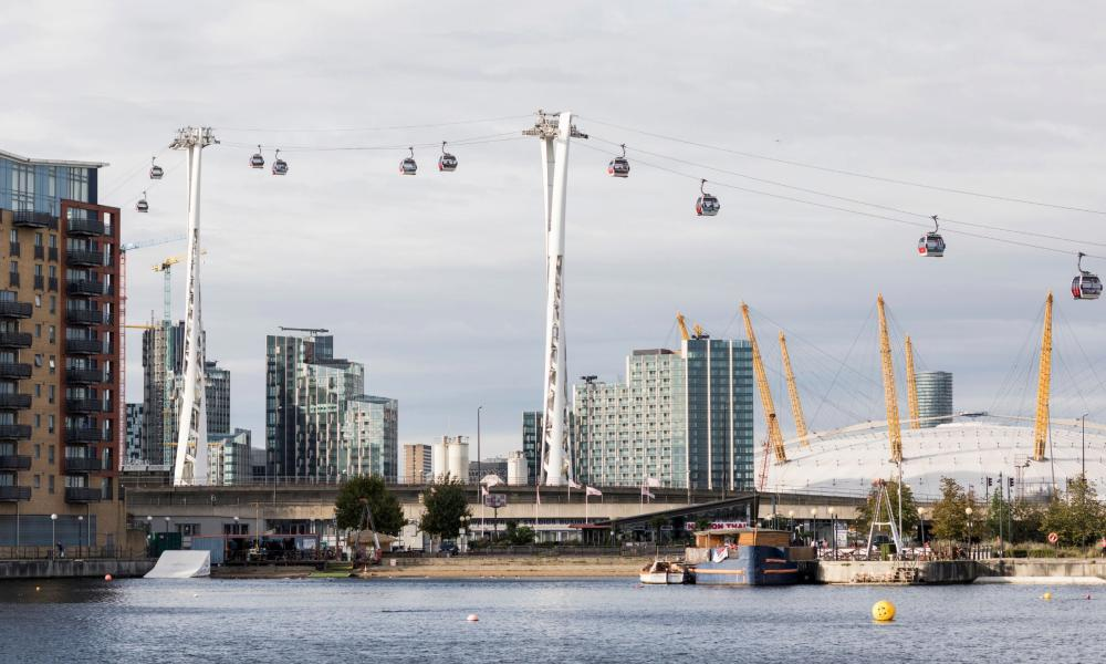 Royal Docks, the setting for Arrival which is produced by imPOSSIBLE and Dunster/Bausor.