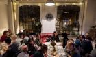 Italian Supper Club diners at Stephen House Studios