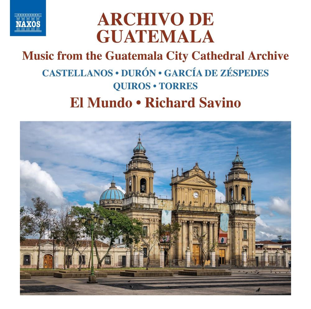 The cover of Archivo de Guatemala