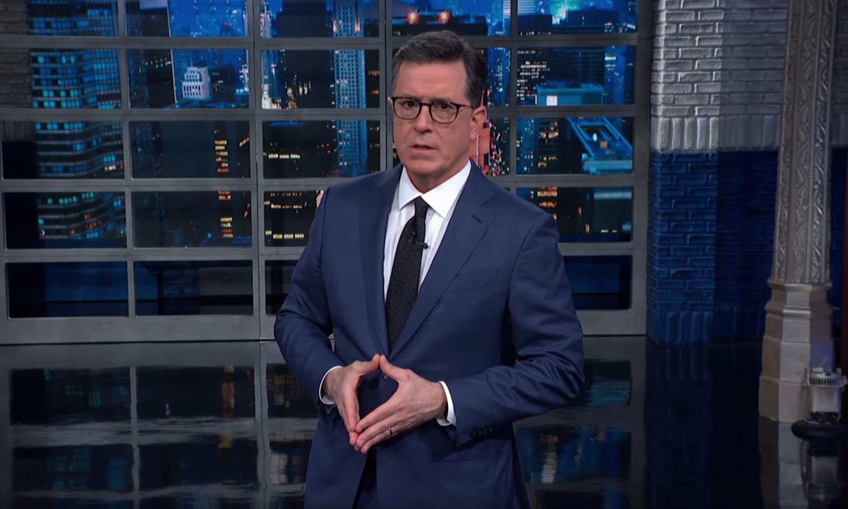 Colbert on impeachment: 'Soon, we will find out if breaking the law is illegal'