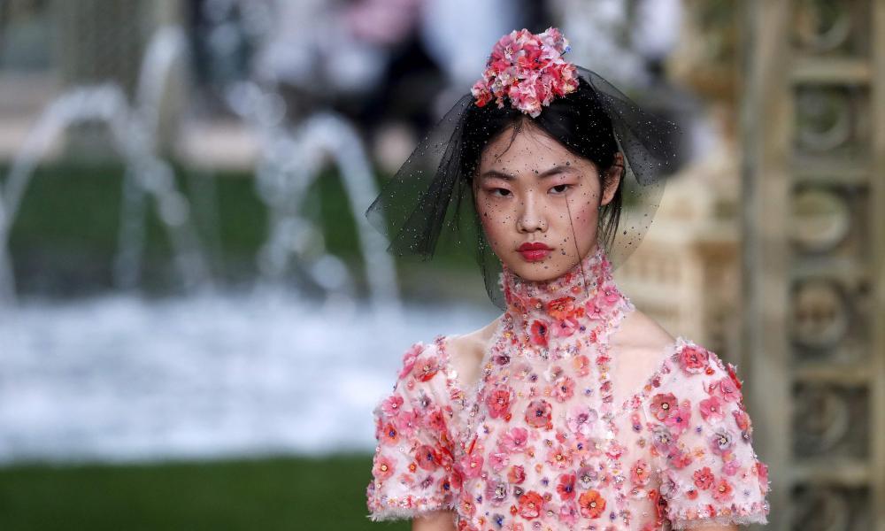 Chanel dress.
