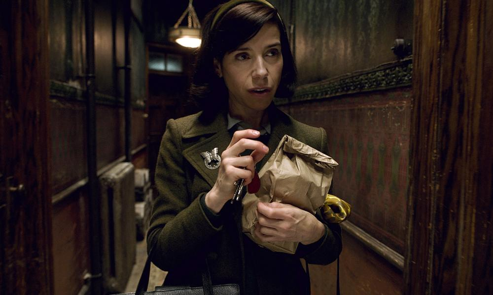 Sally Hawkins in The Shape of Water, which was the big winner at The Critics' Choice awards.