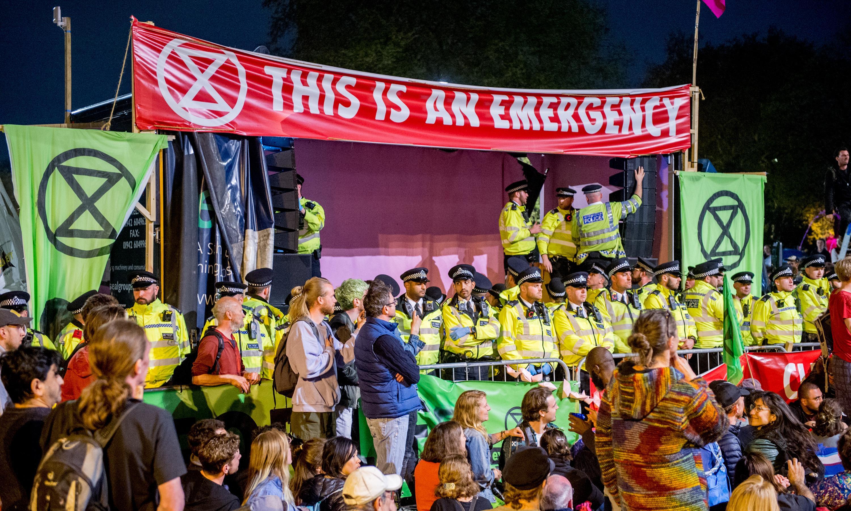 Support for Extinction Rebellion soars after Easter protests