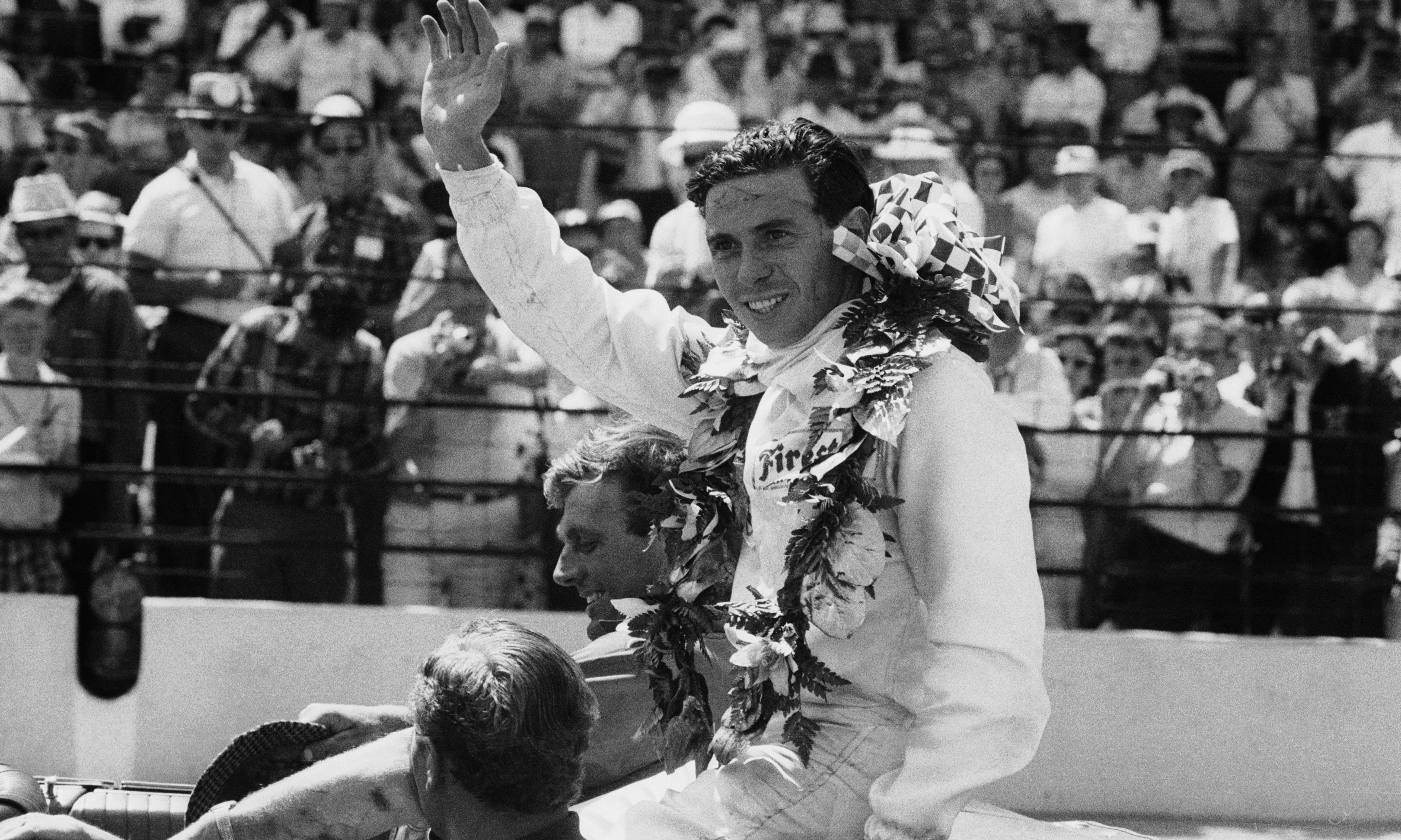 Jim Clark, the indecisive farmer who was transformed behind a wheel