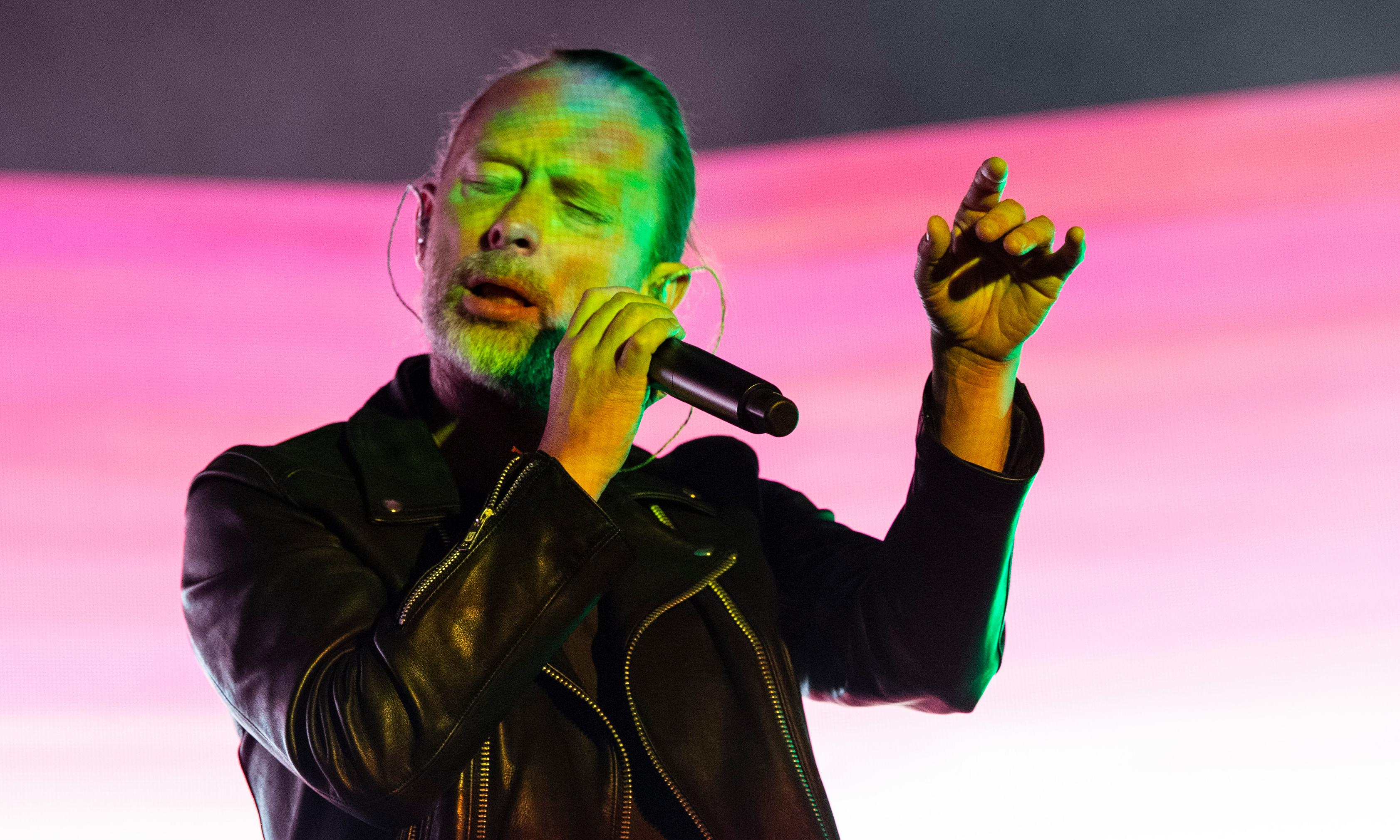 Thom Yorke: how I coped with ex-partner's death