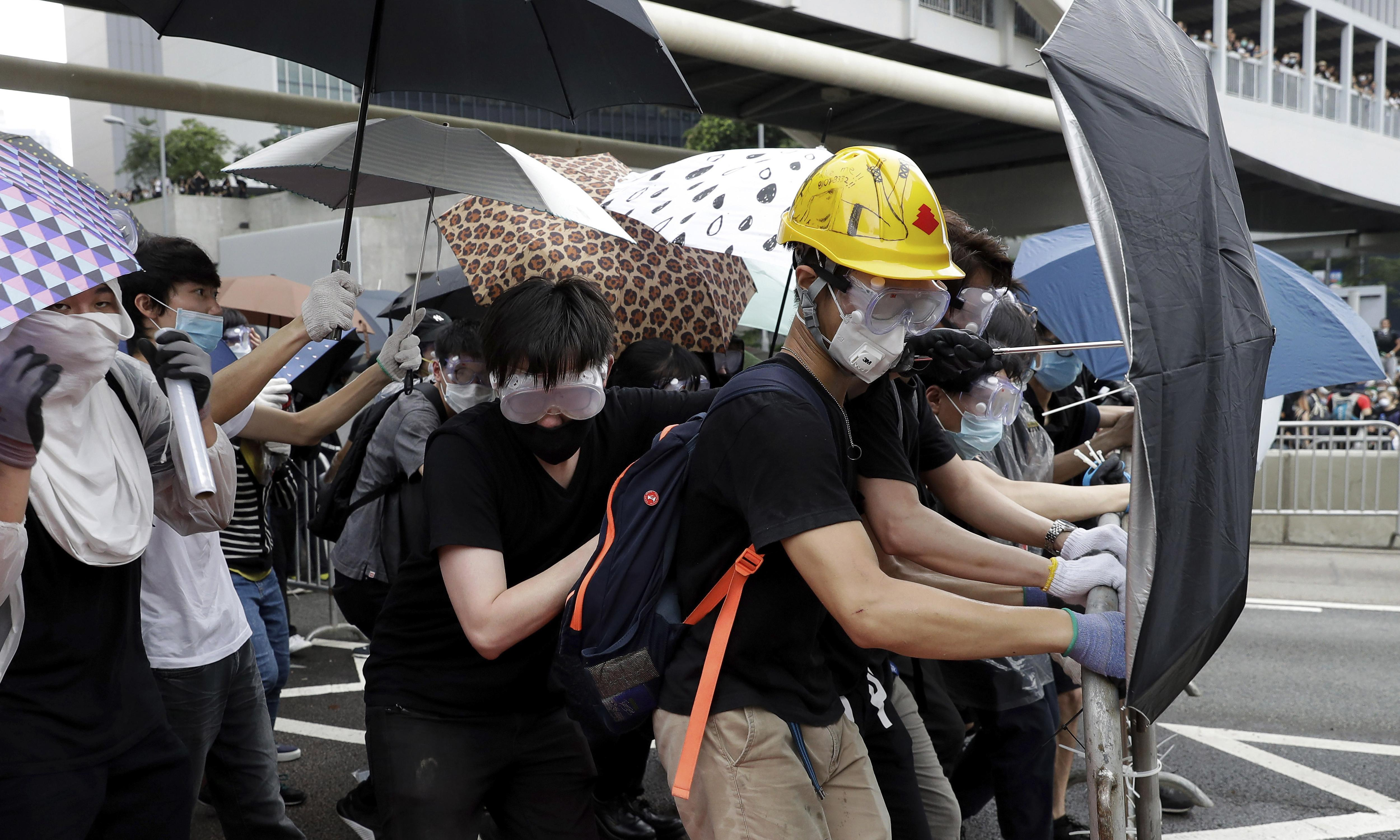Mass street protests are an expression of Hong Kong's identity