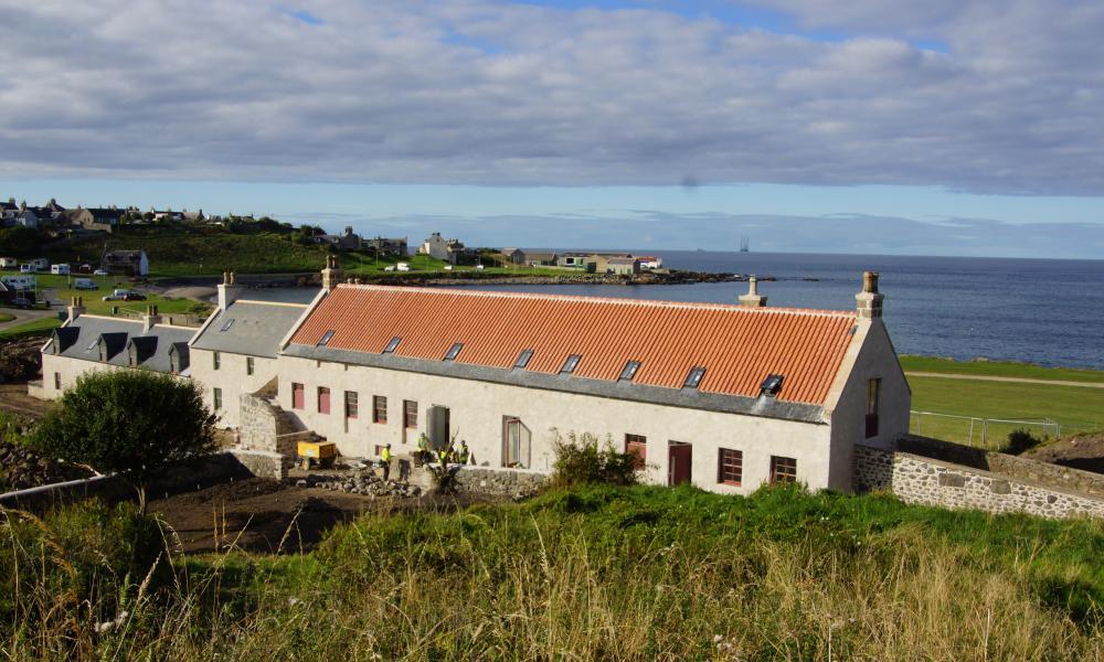 The Sail Loft bunkhouse, Portsoy, Aberdeenshire