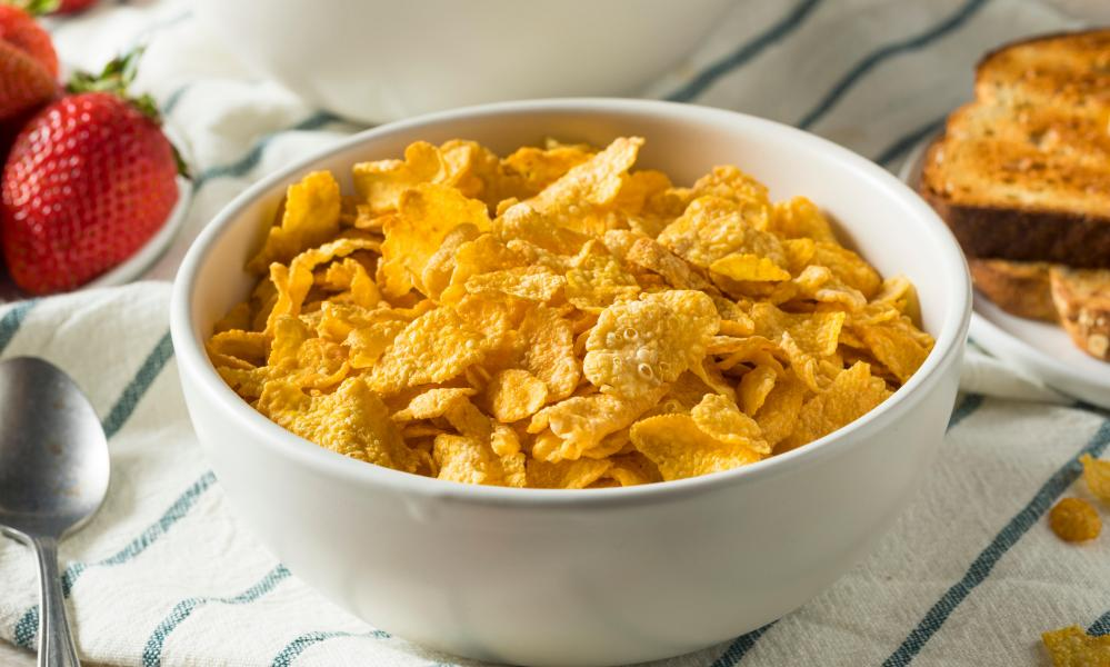 Cornflakes are a plain breakfast classic that can be jazzed up in exciting ways.