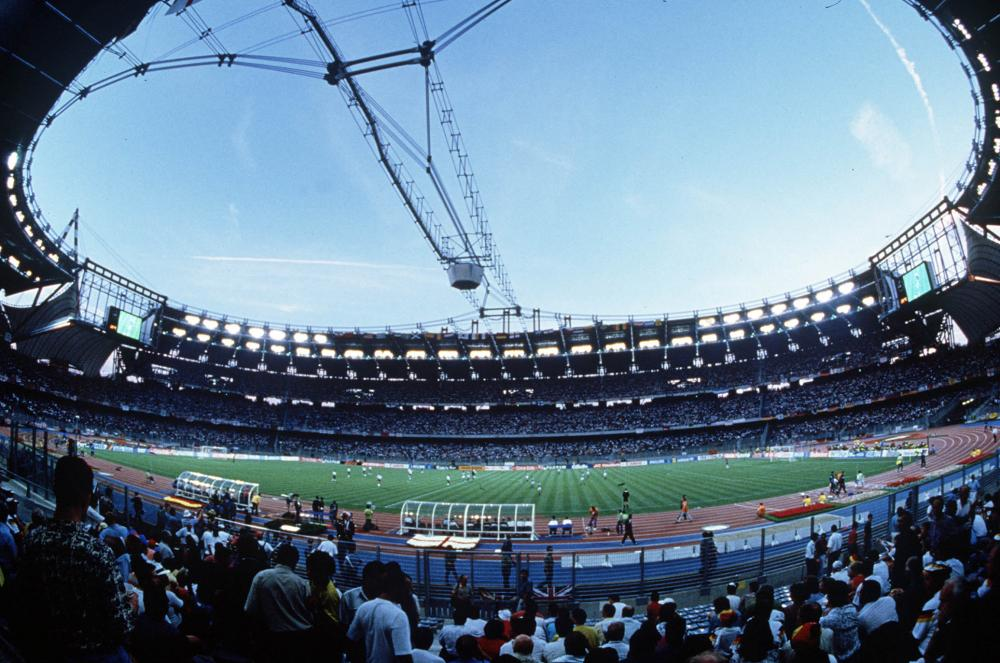 England v Germany, Turin, 1990.