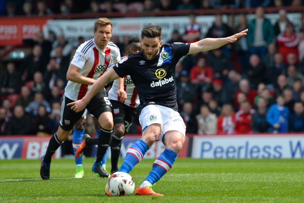 Craig Conway scores from the penalty spot.