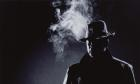 Man in Fedora Smoking