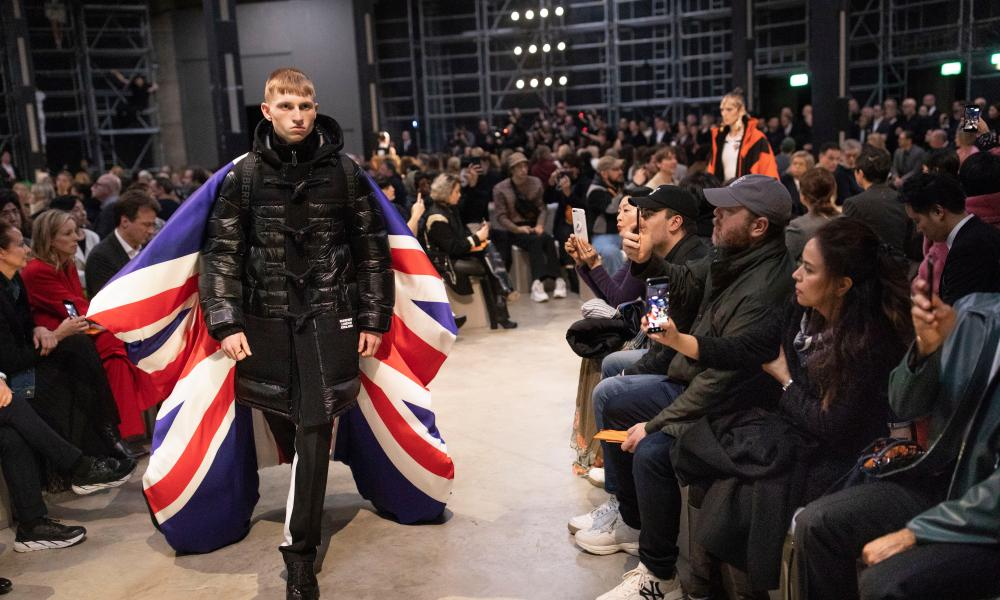'Burberry is everything about British life,' said Riccardo Tisci