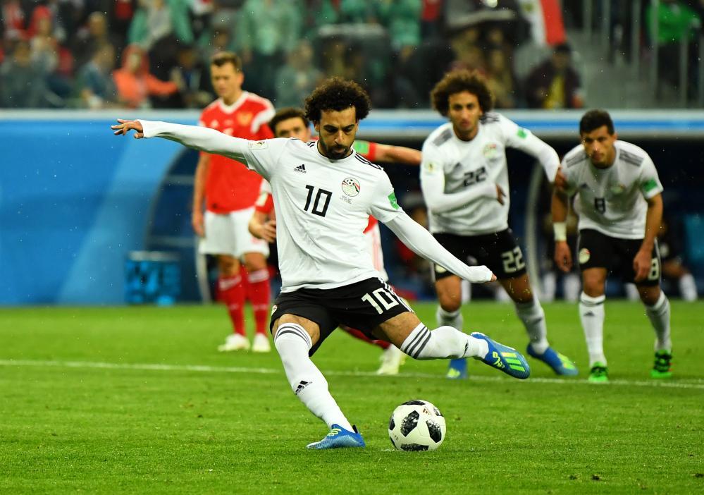 Salah scores.
