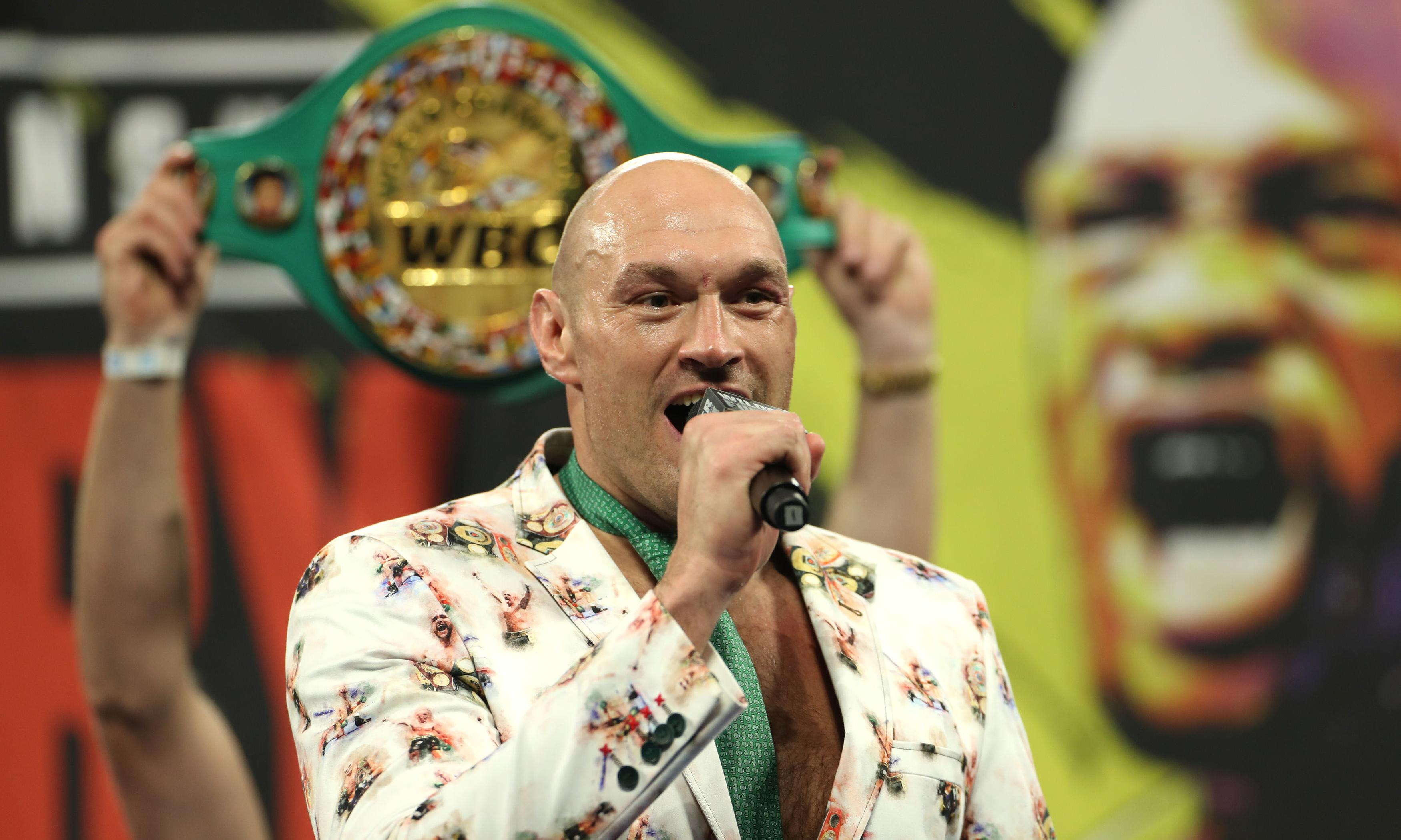 Tyson Fury: from the lowest of lows to the top of the world