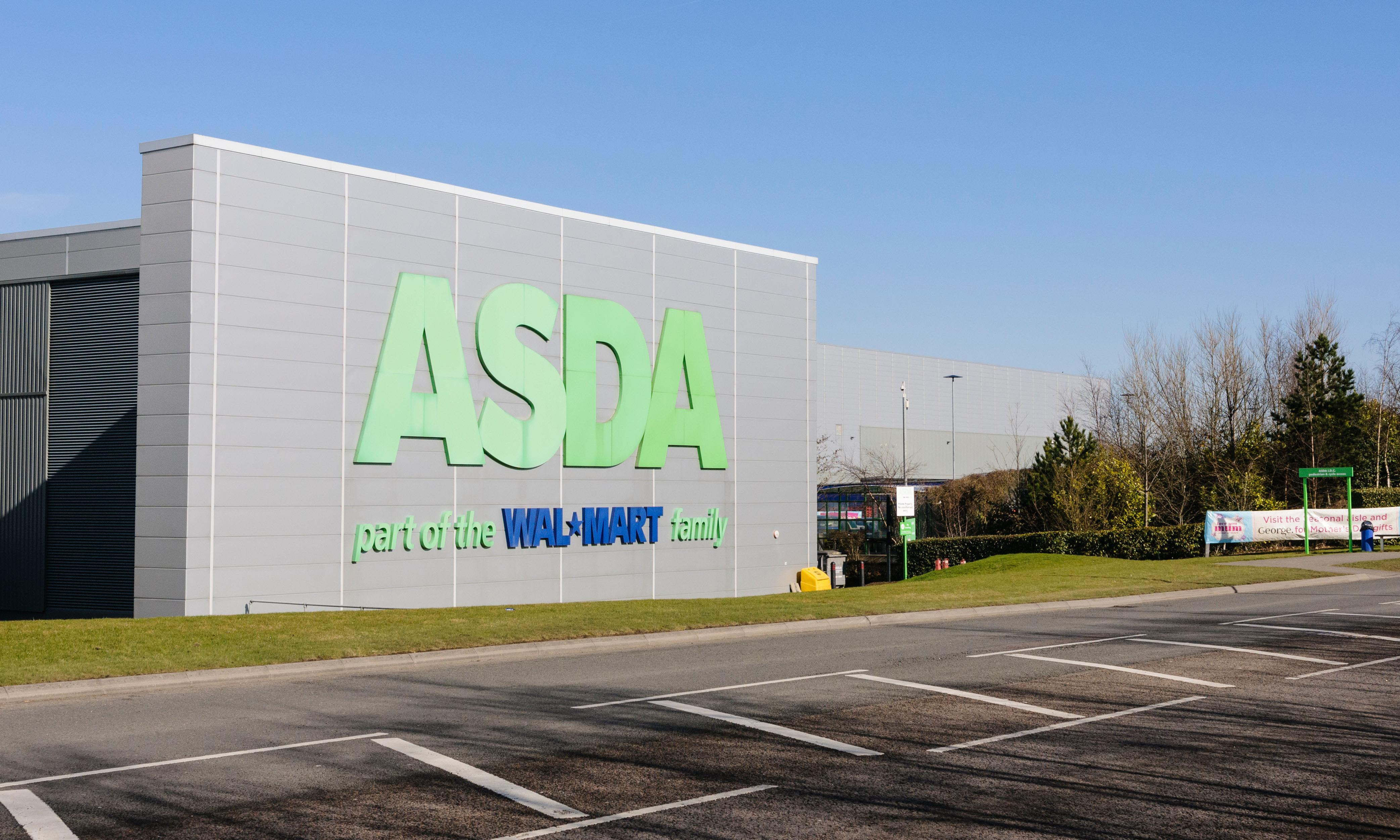 Asda workers stage protests against 'punitive' new contract