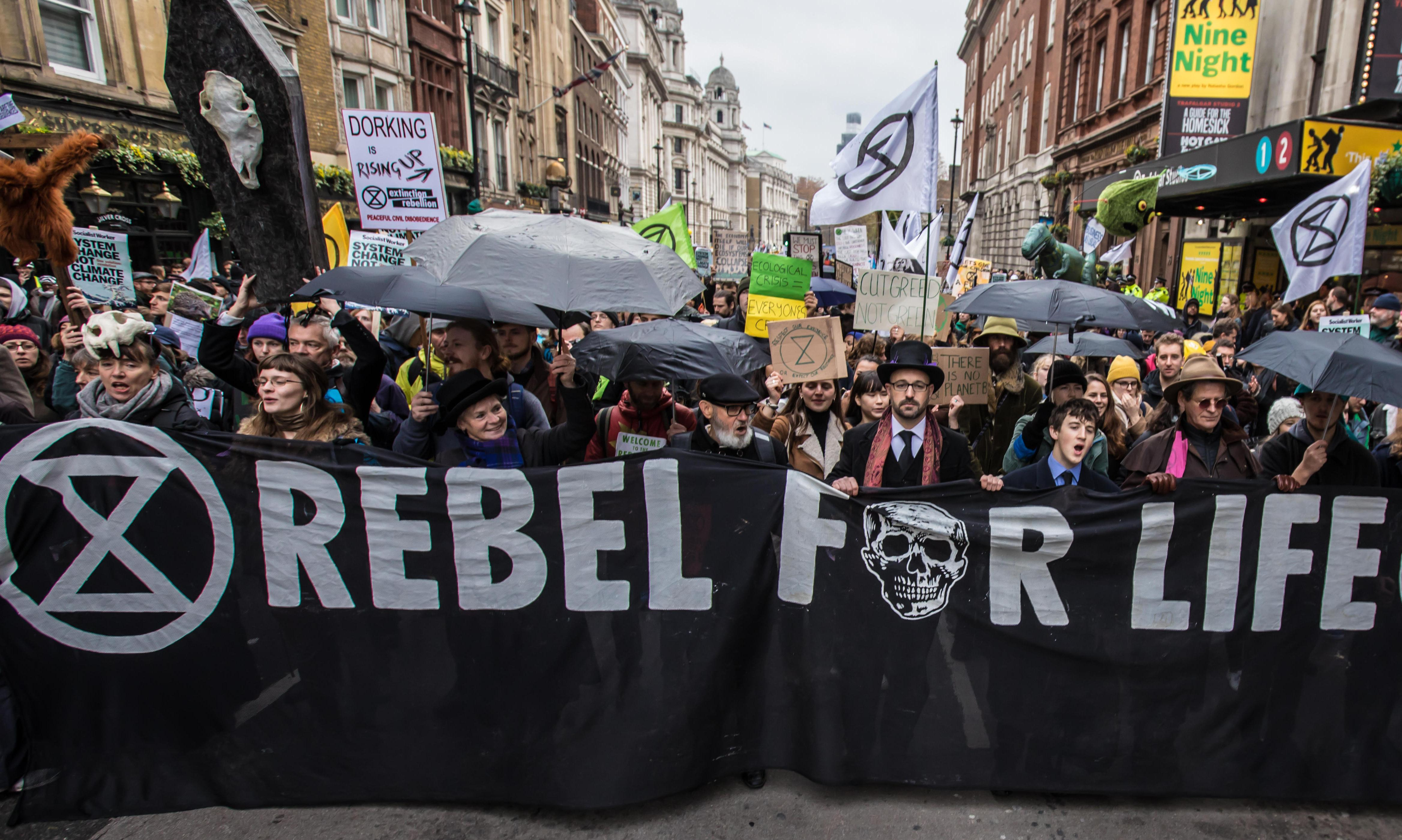 Extinction Rebellion's tactics are working. It has pierced the bubble of denial