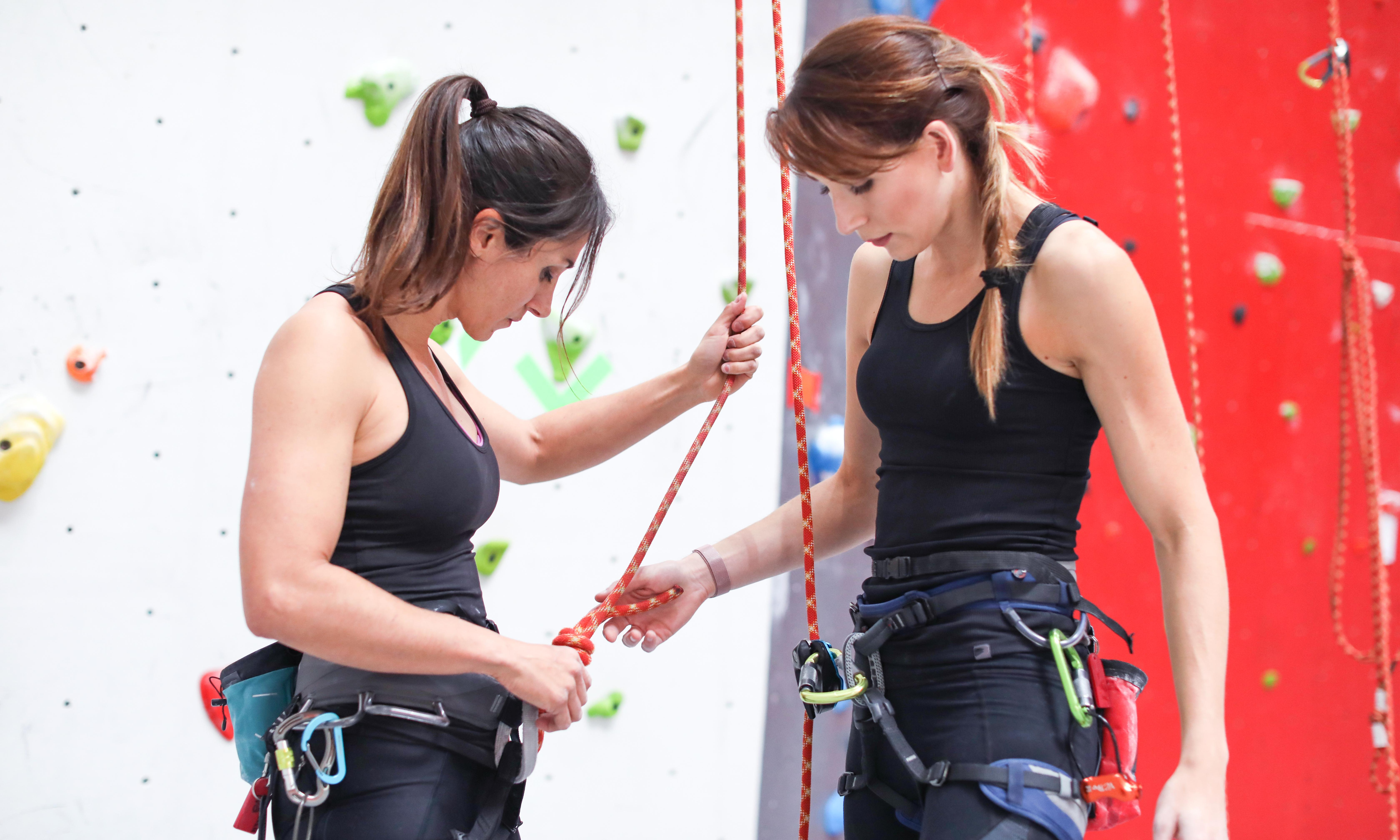Fitness tips: top-rope climbing for beginners