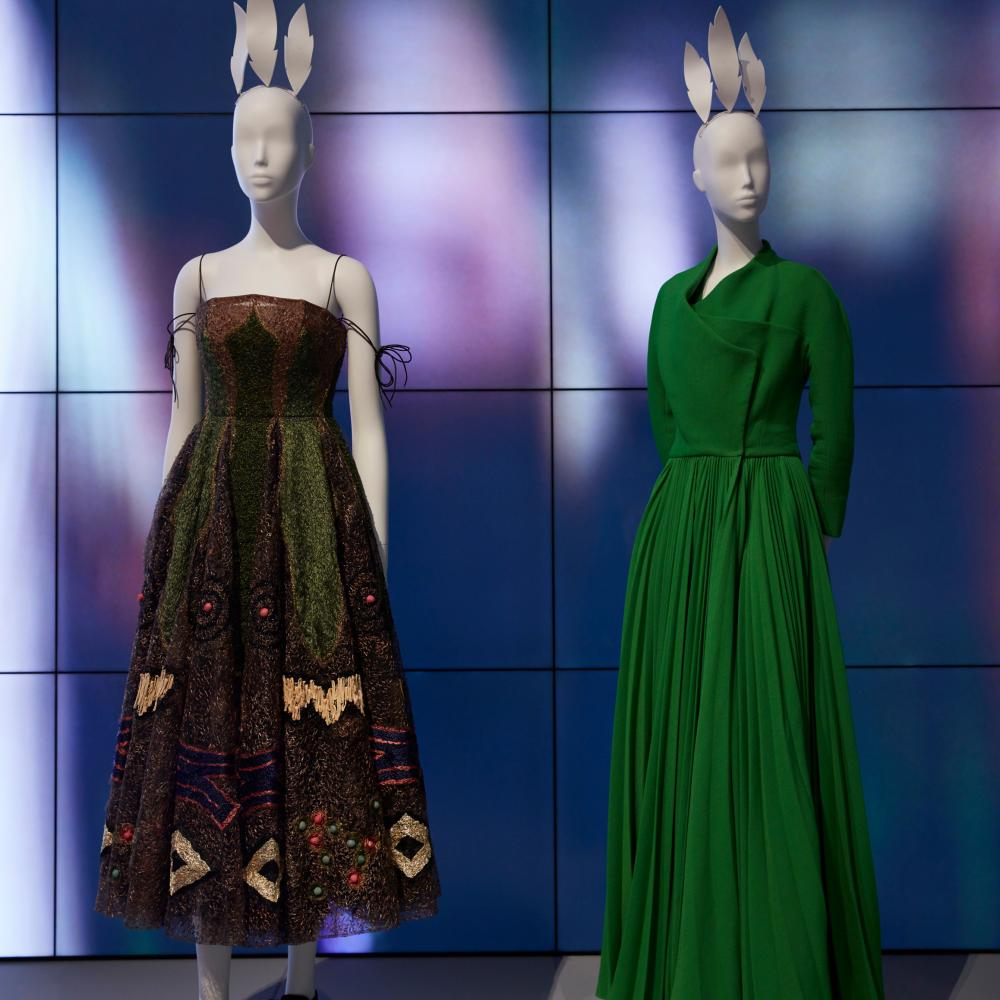 Maria Grazia Chiuri's couture gowns for Dior
