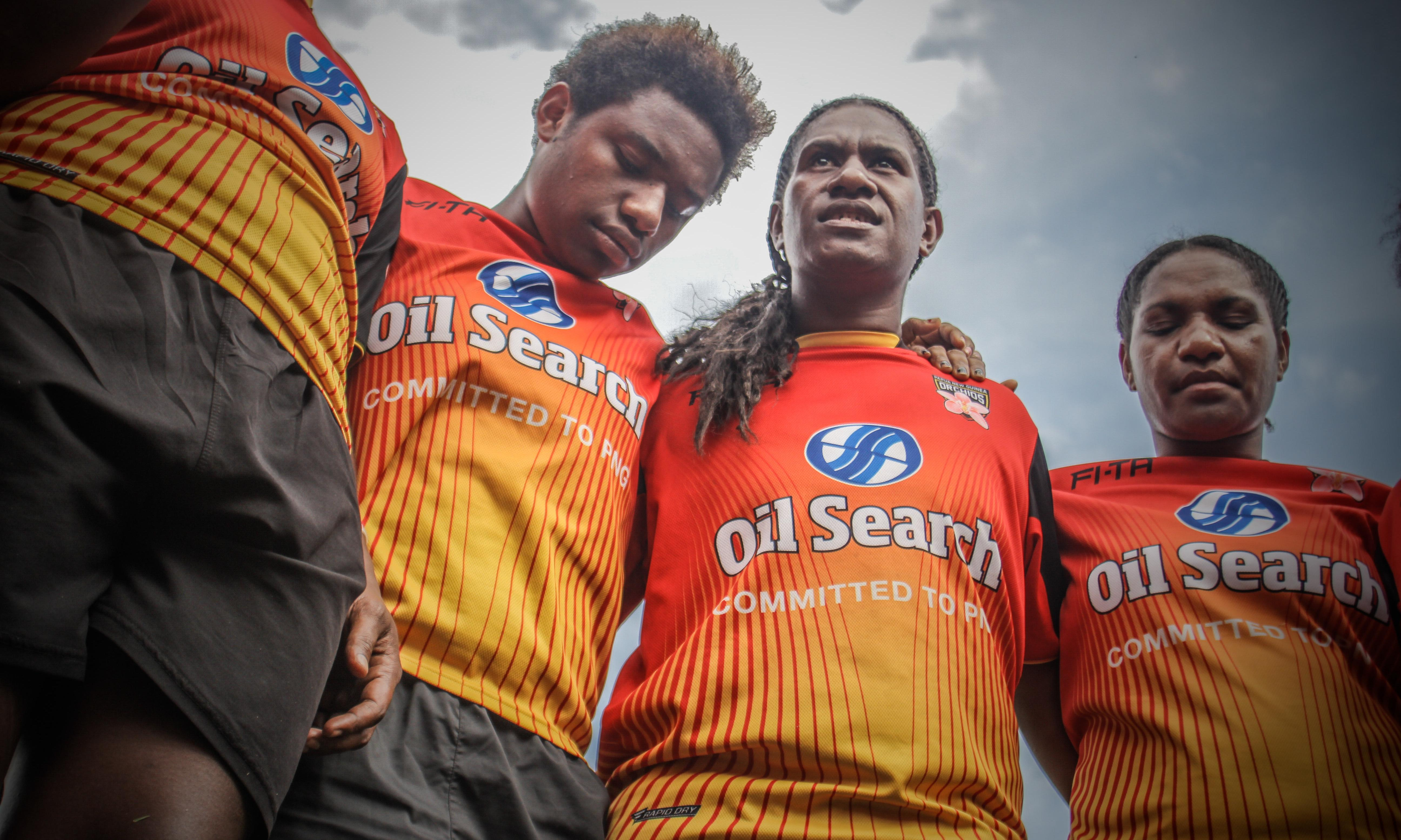 Women's rugby league helping tackle domestic violence in PNG