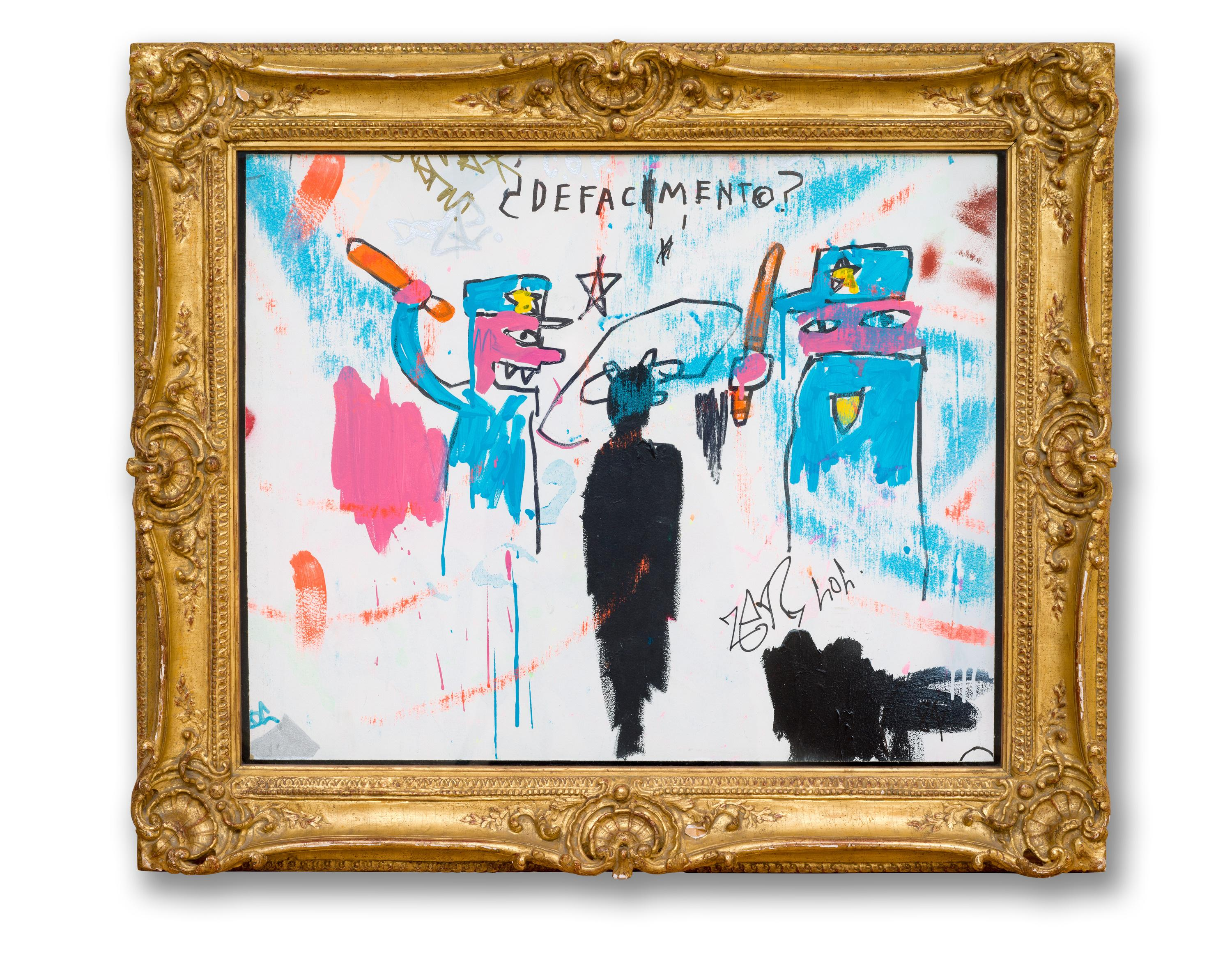 Defacement: the tragic story of Basquiat's most personal painting