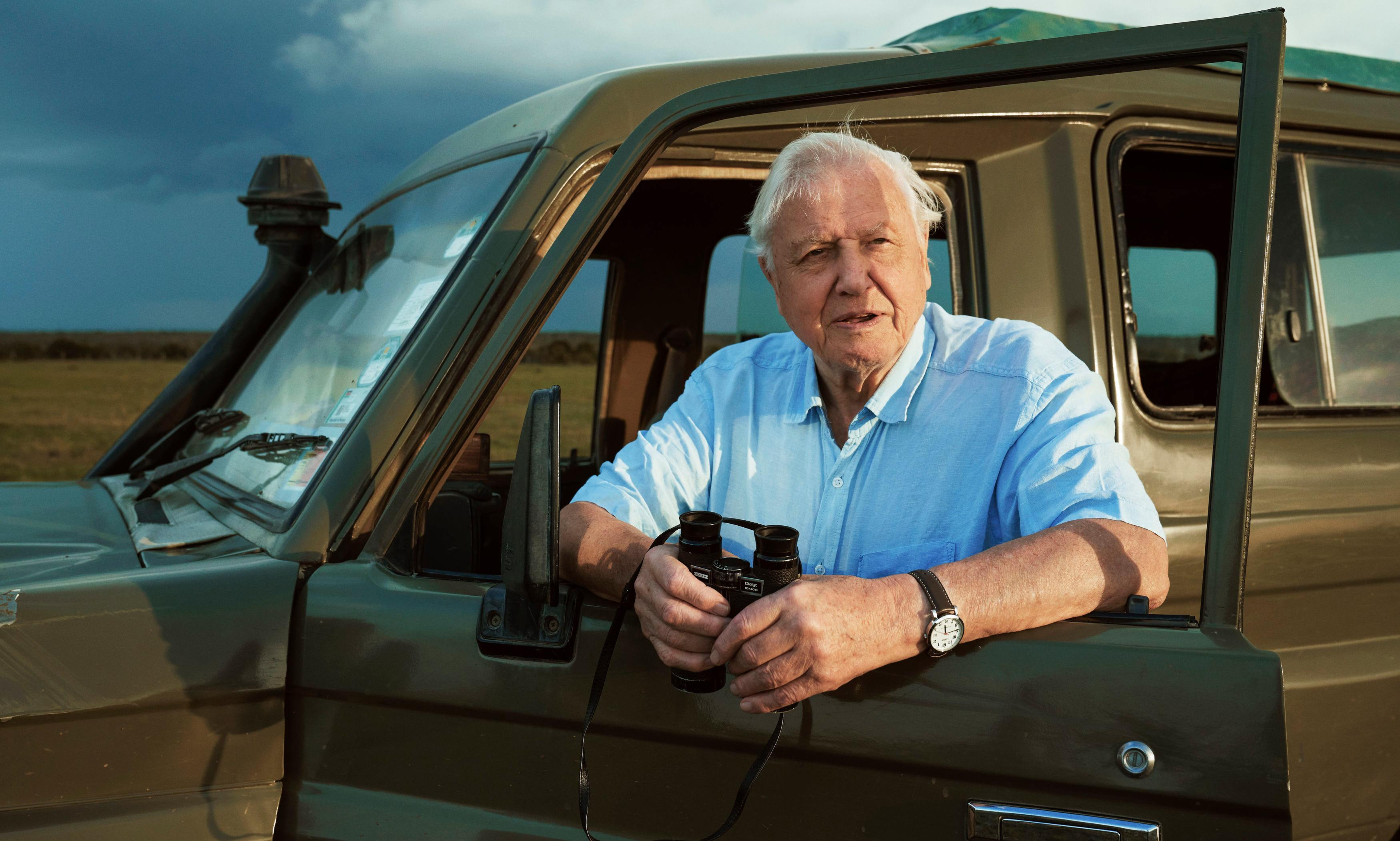 'Just don't waste': David Attenborough's heartfelt message to next generation